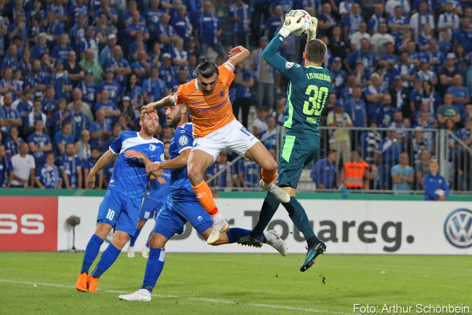 DFB-Pokal: 1. FC Magdeburg – SV Darmstadt 98 0:1 (0:1)
