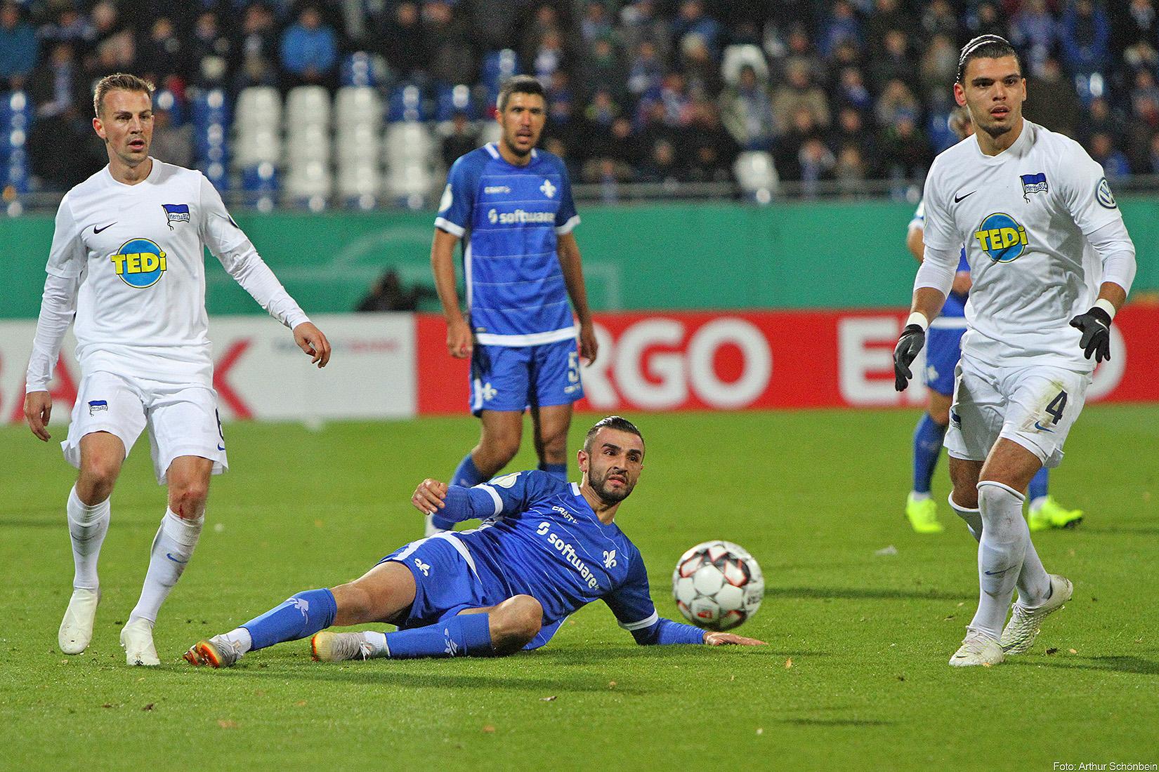 SV Darmstadt 98 – Hertha BSC 0:2 (0:0)