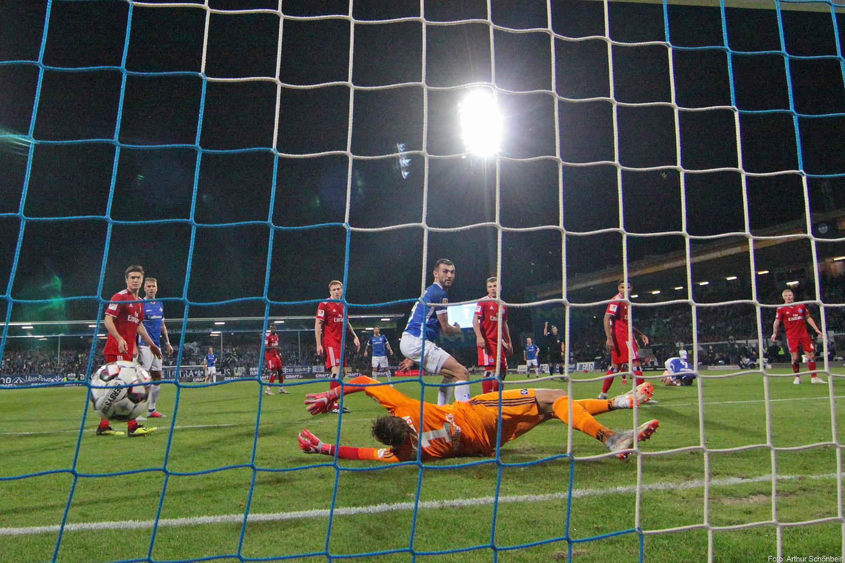 SV Darmstadt 98 – Hamburger SV 1:2 (0:2)