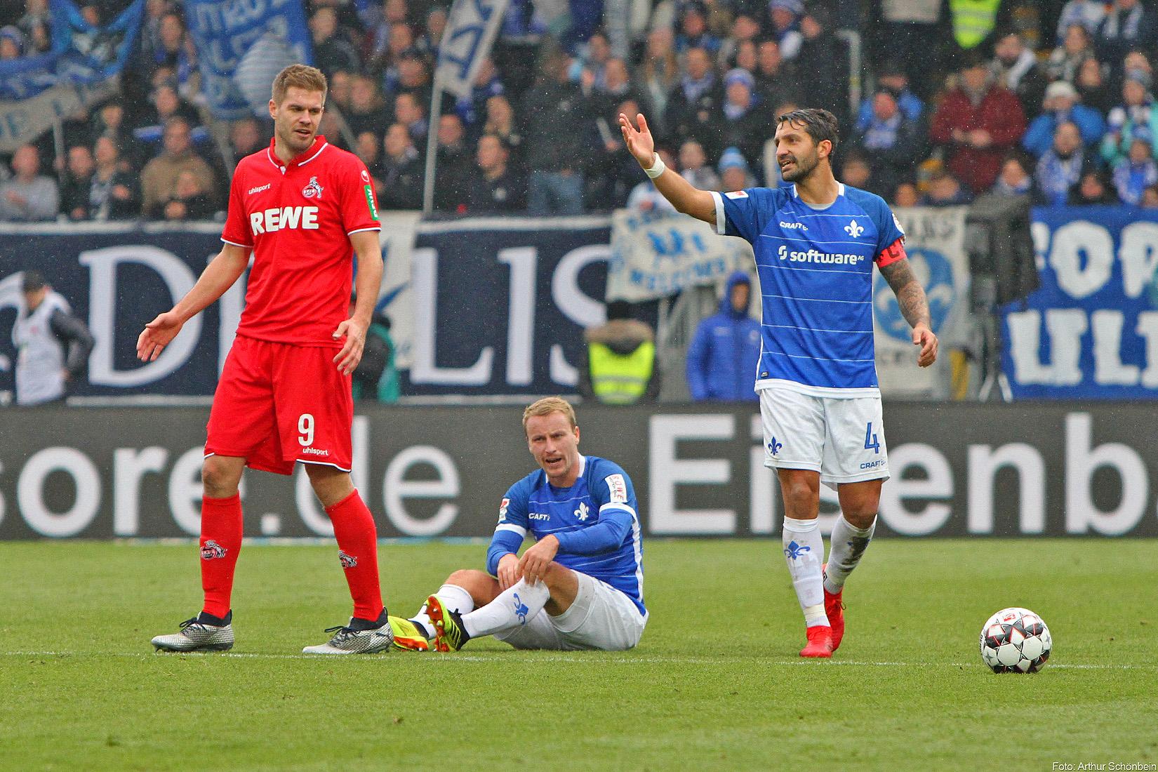 SV Darmstadt 98 – 1. FC Köln 0:3 (0:0)