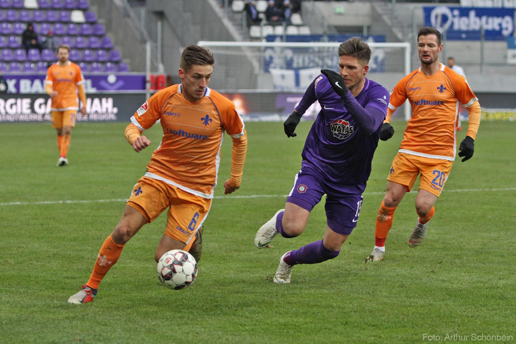 Erzgebirge Aue – SV Darmstadt 98 2:2 (0:0)