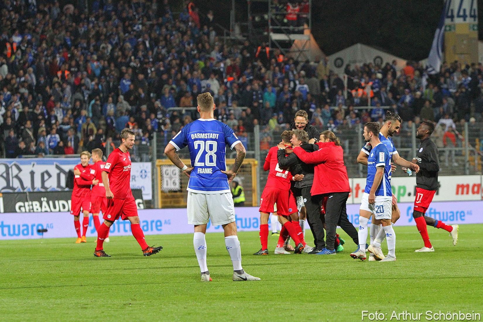 Letzte Saison gegen Bielefeld: Last-Minute-Pleite