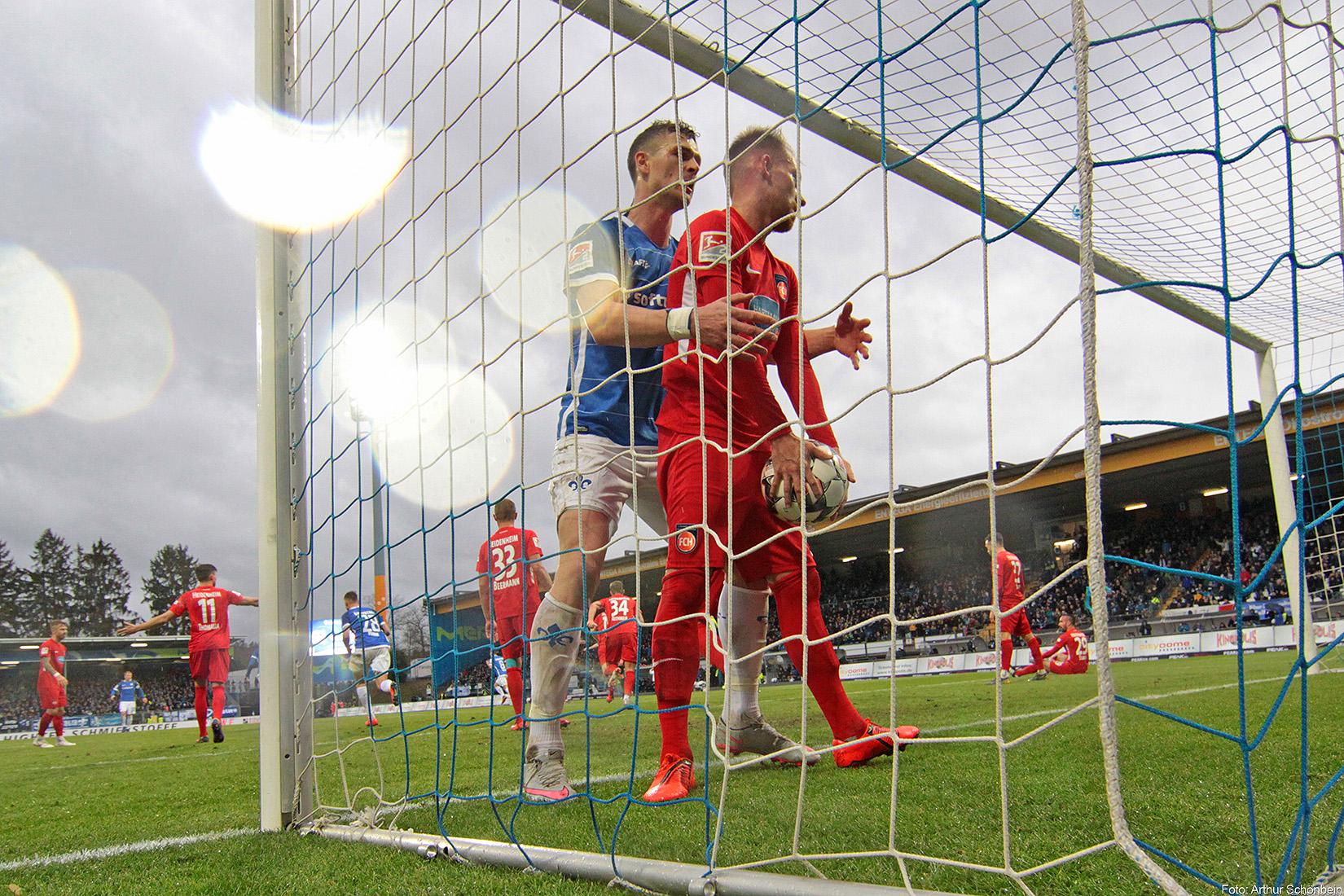 SV Darmstadt 98 – 1. FC Heidenheim 1:2 (0:1)