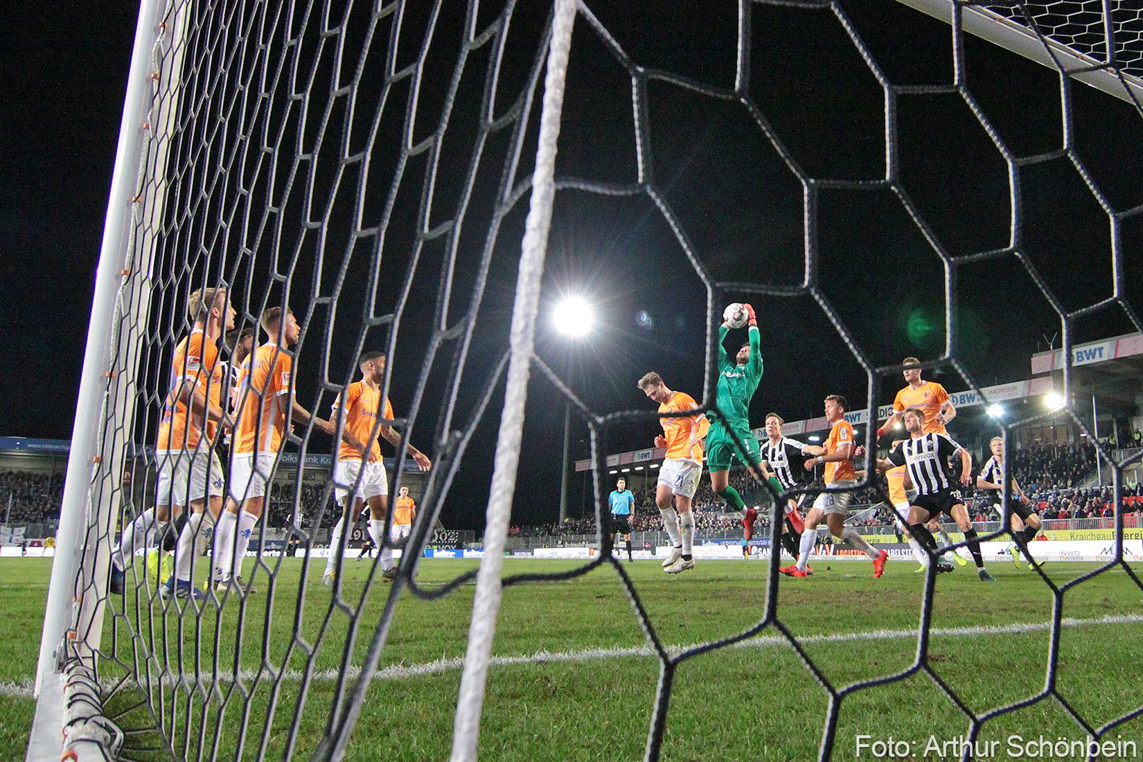 SV Sandhausen – SV Darmstadt 98 1:1 (1:1)