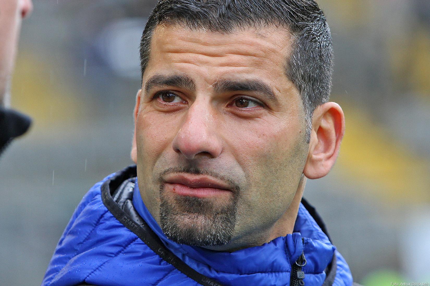 """Lilien-Coach Grammozis: """"Es geht nicht um mich"""""""