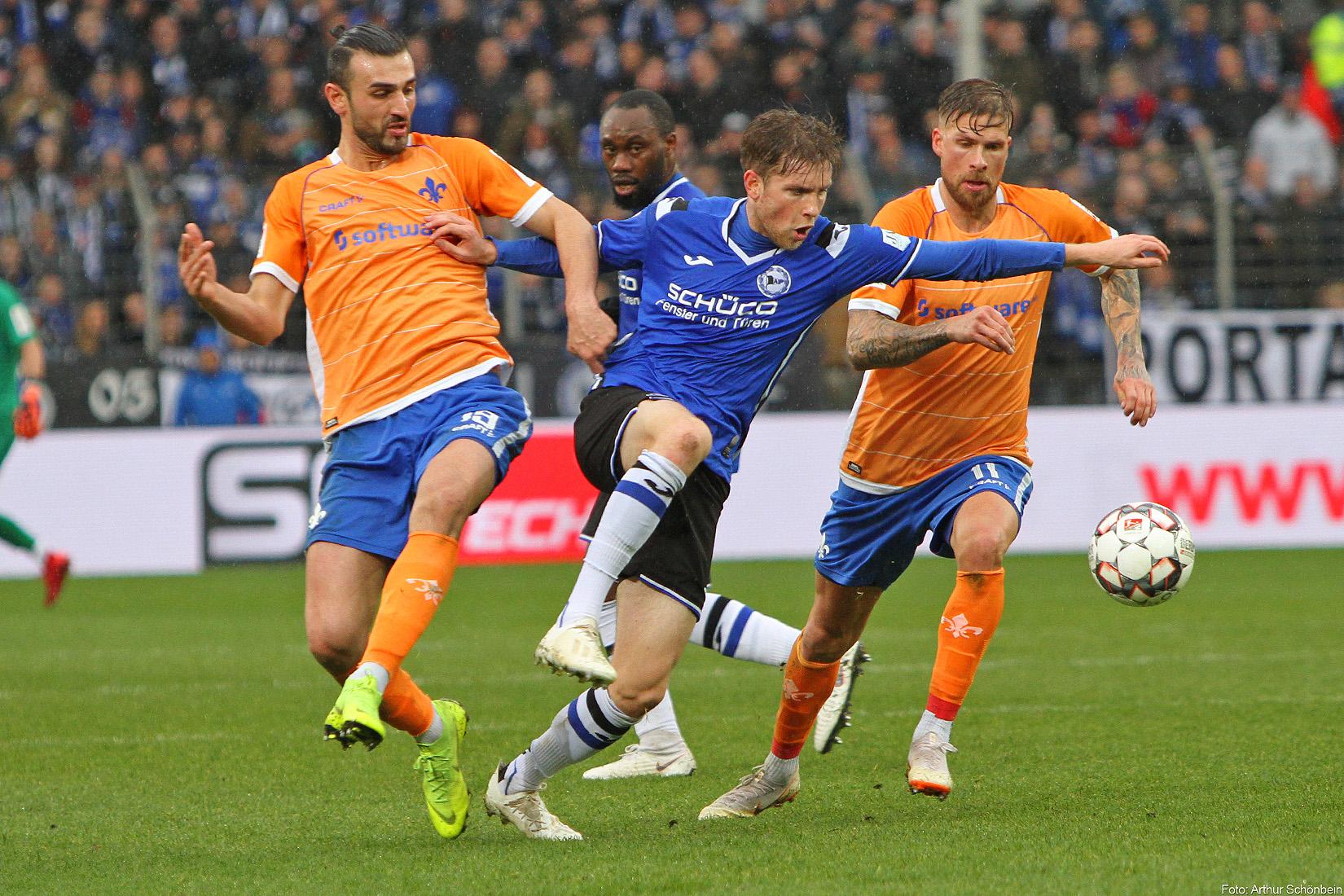 Arminia Bielefeld – SV Darmstadt 98 1:0 (1:0)