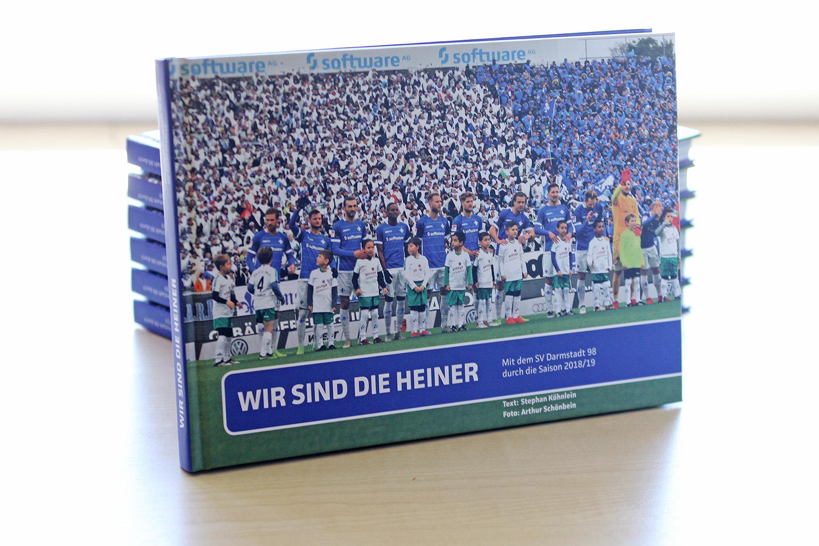 """Endlich DA – Das Saisonbuch """"Wir sind die Heiner"""""""