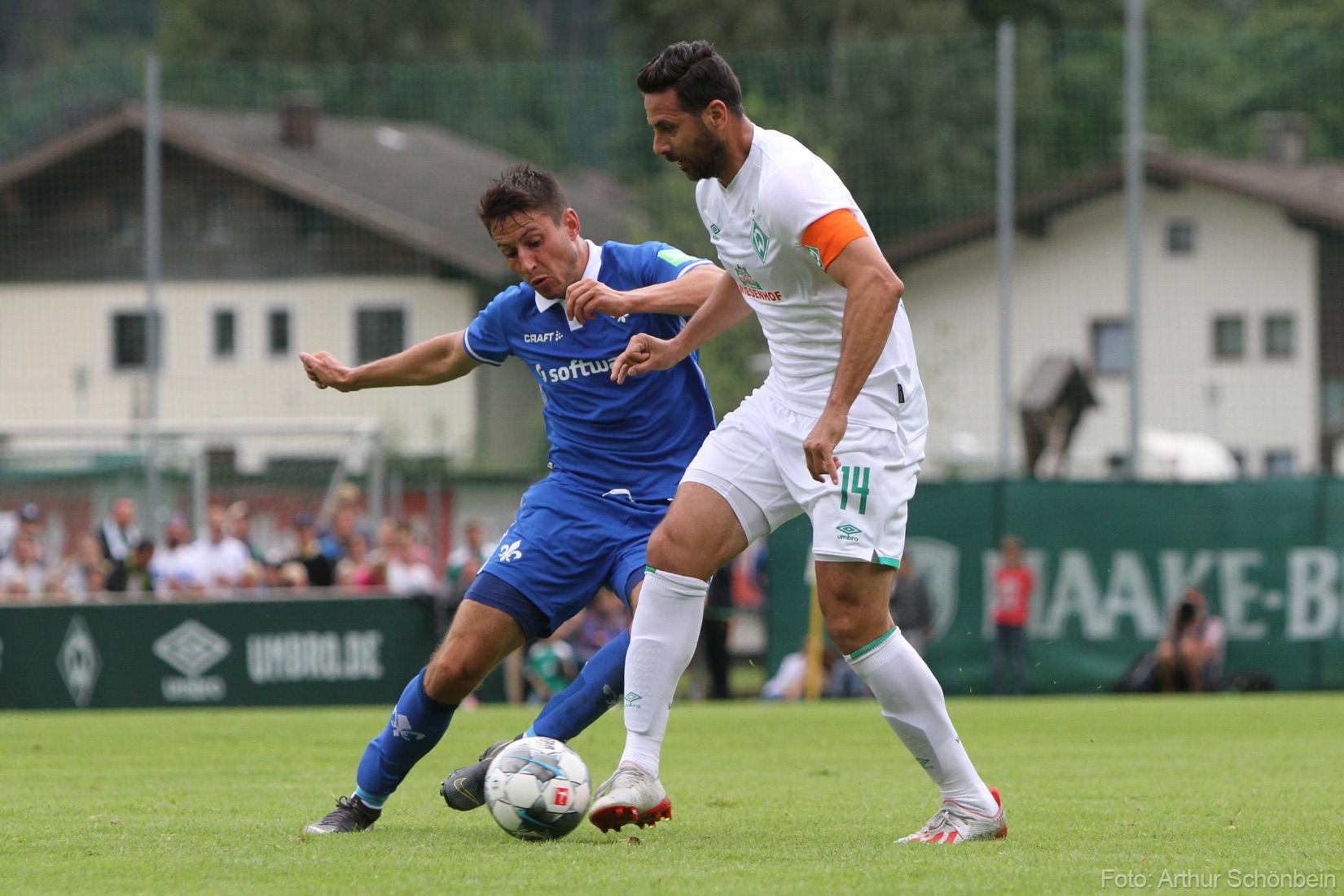 Testspiel: Lilien trotzen Werder ein Unentschieden ab