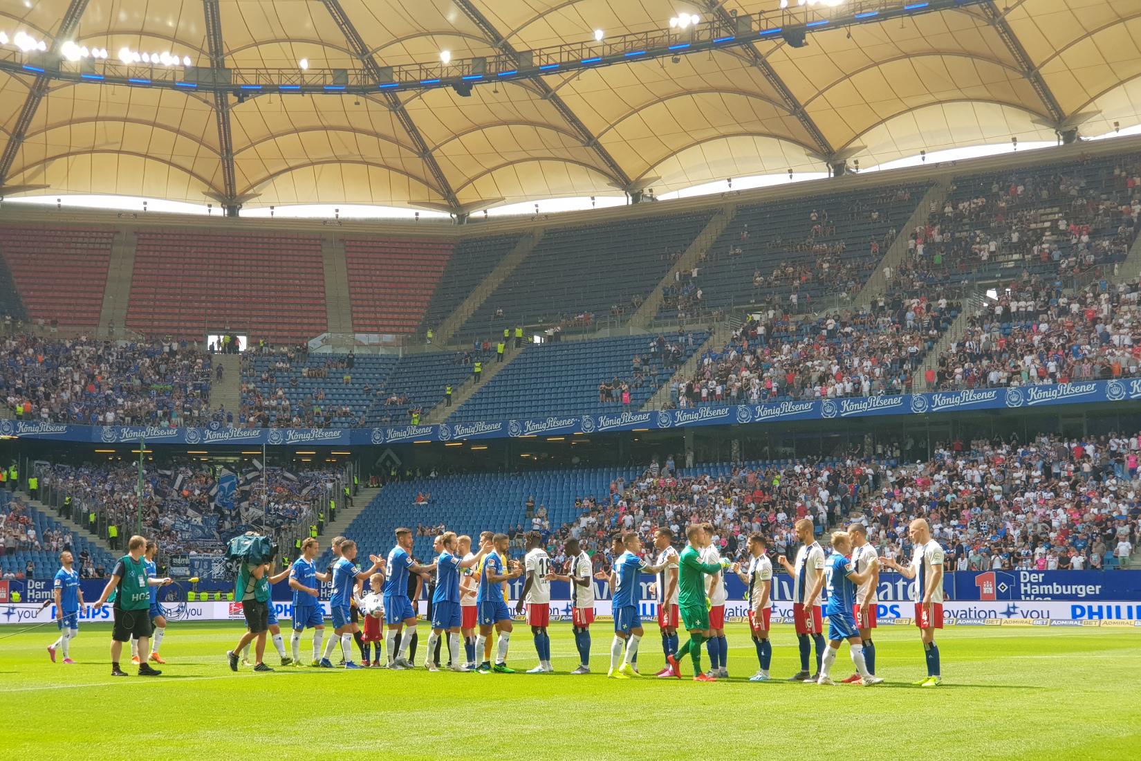 Hamburger SV – SV Darmstadt 98 1:1 (0:0)