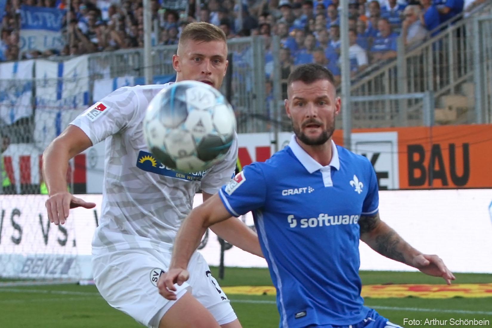 Impressionen von SV Sandhausen gegen SV Darmstadt 98
