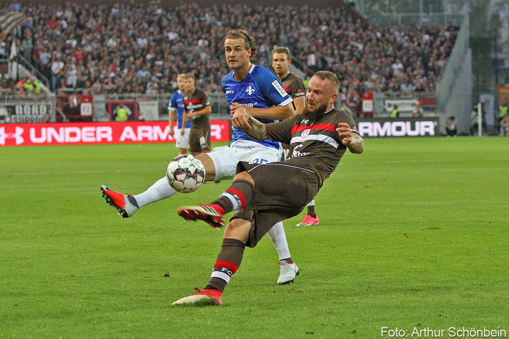 Hoffen auf den Befreiungsschlag – vor dem Spiel bei St. Pauli