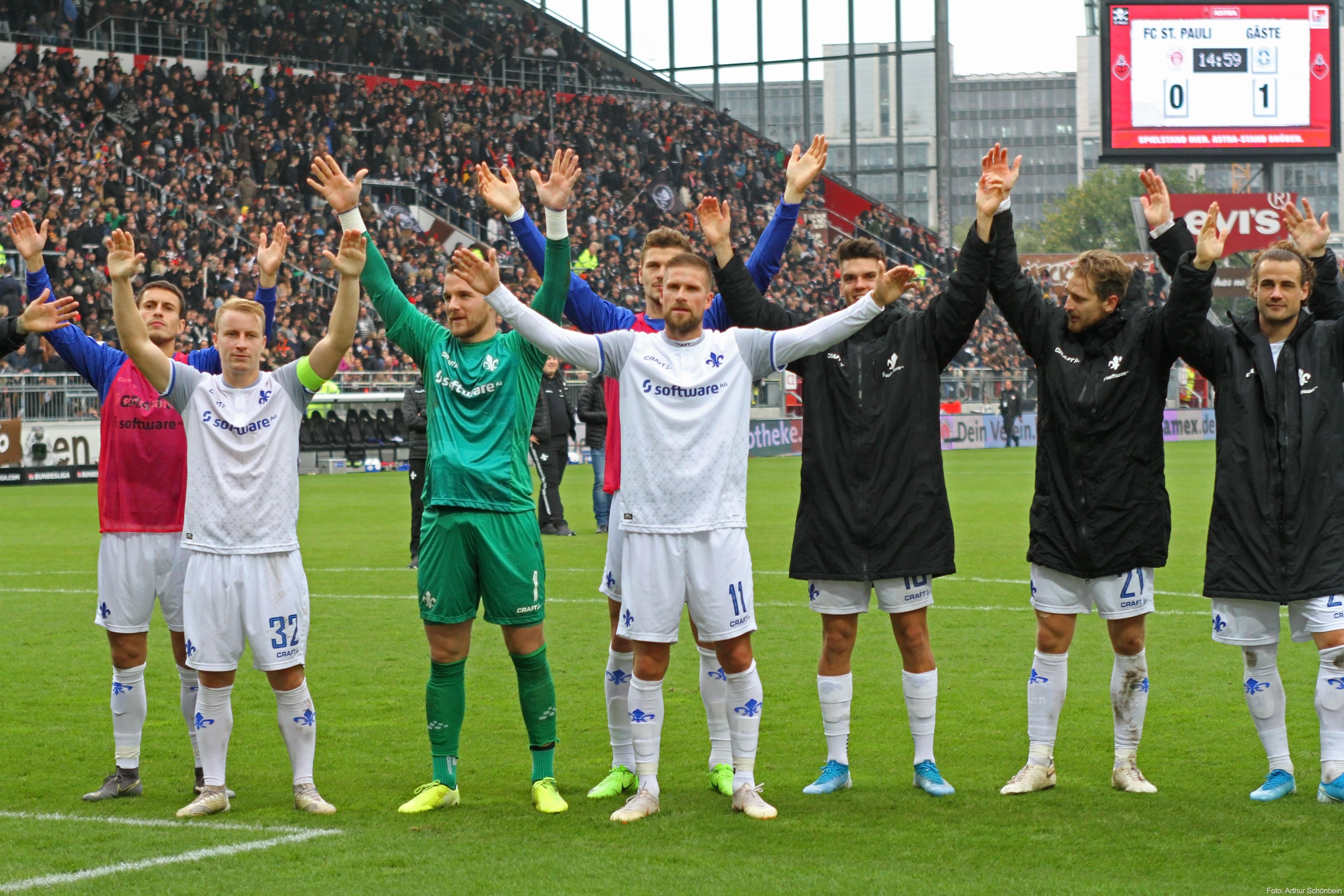 Impressionen vom Spiel gegen den FC St. Pauli