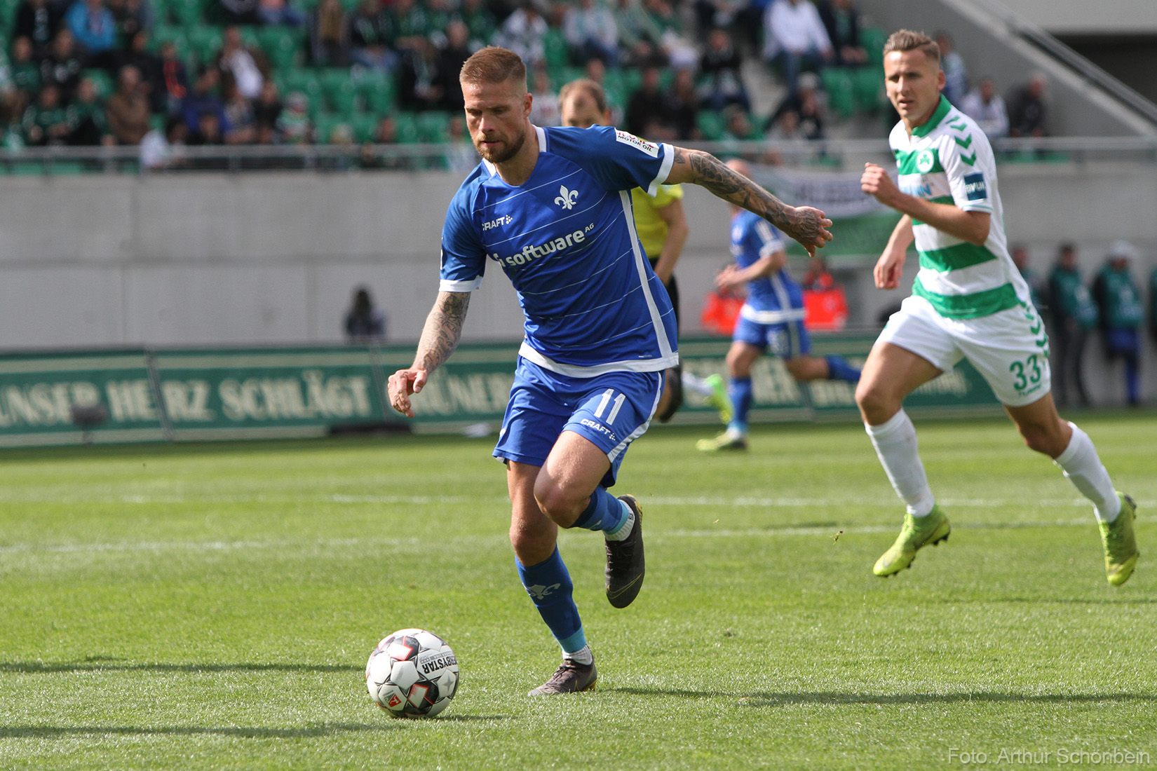 Letzte Saison bei der SpVgg Greuther Fürth