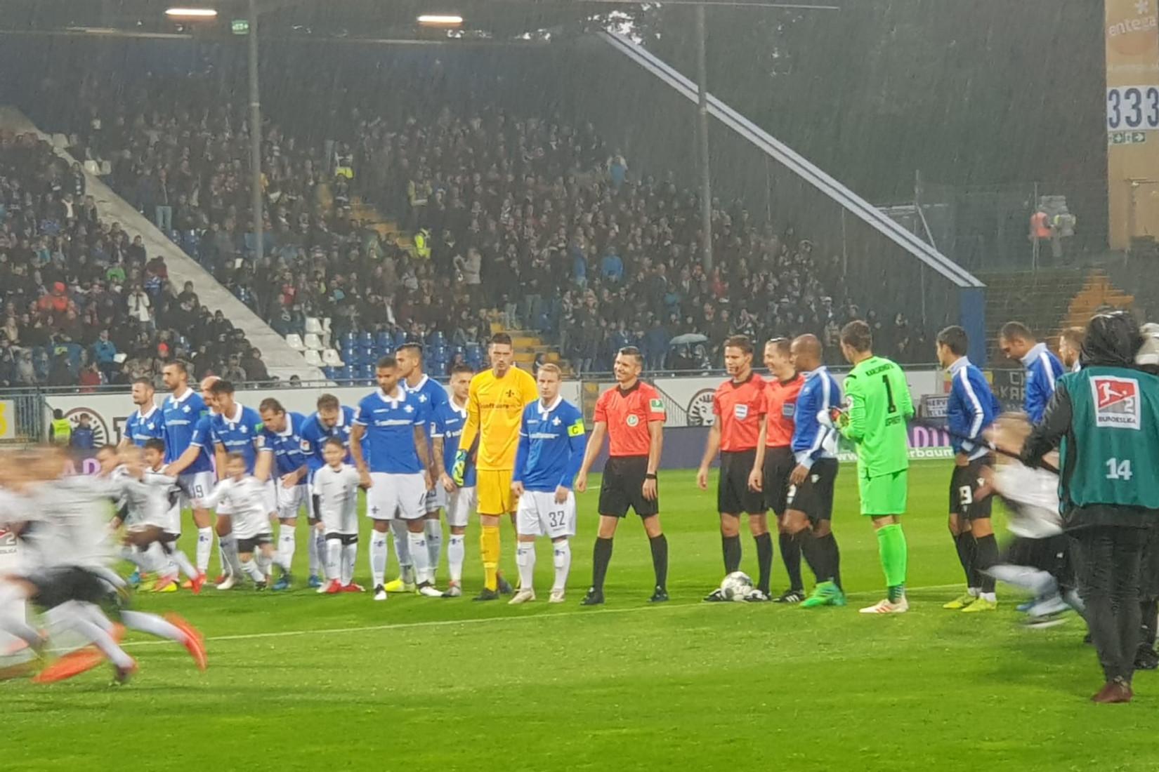SV Darmstadt 98 – Karlsruher SC 1:1 (1:1)