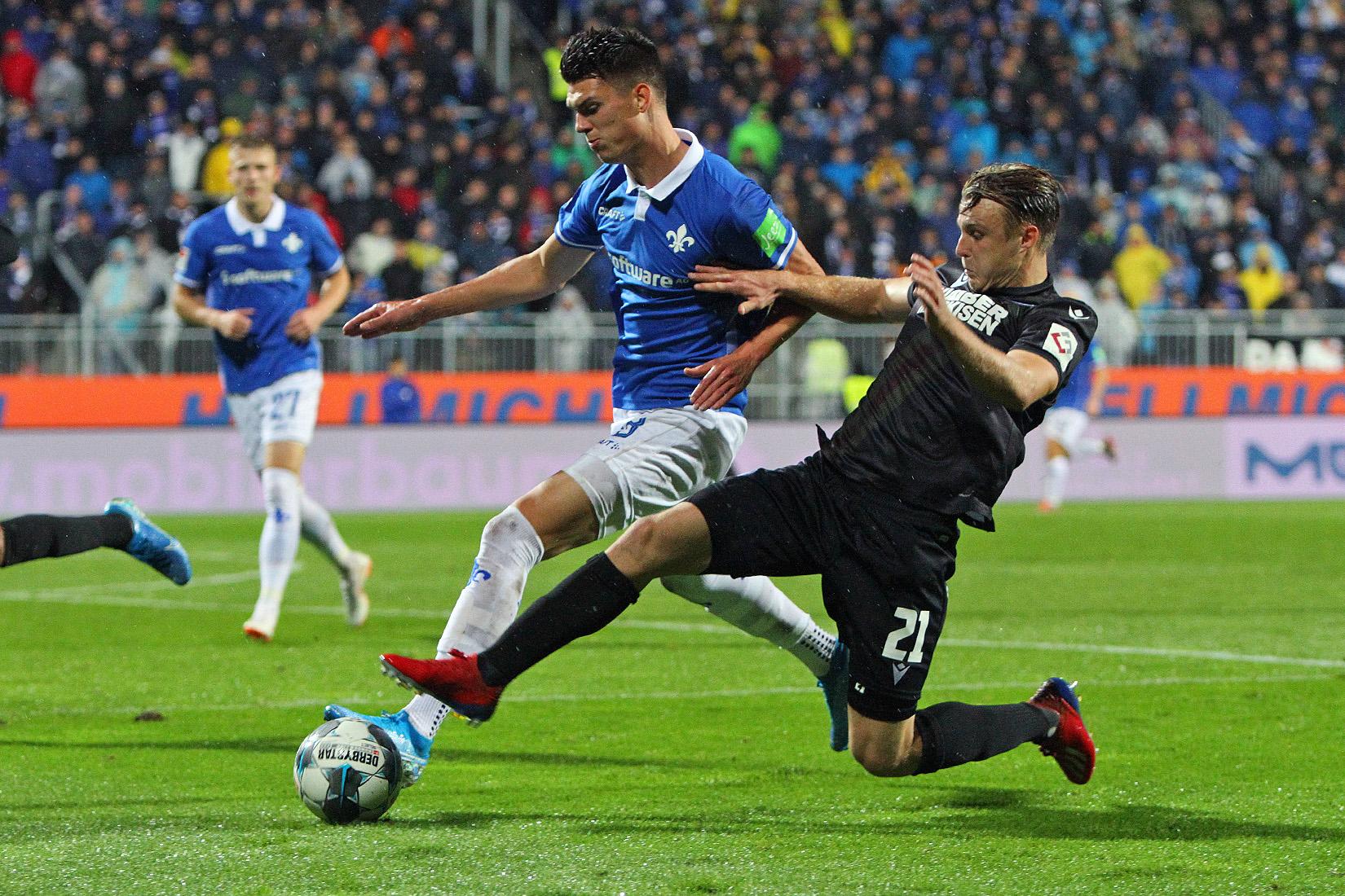 Impressionen vom Spiel gegen den Karlsruher SC