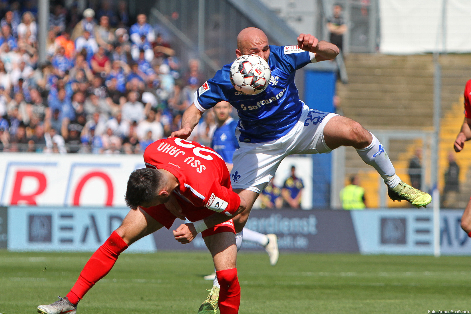 Letzte Saison gegen Regensburg: Chancen-Wucher