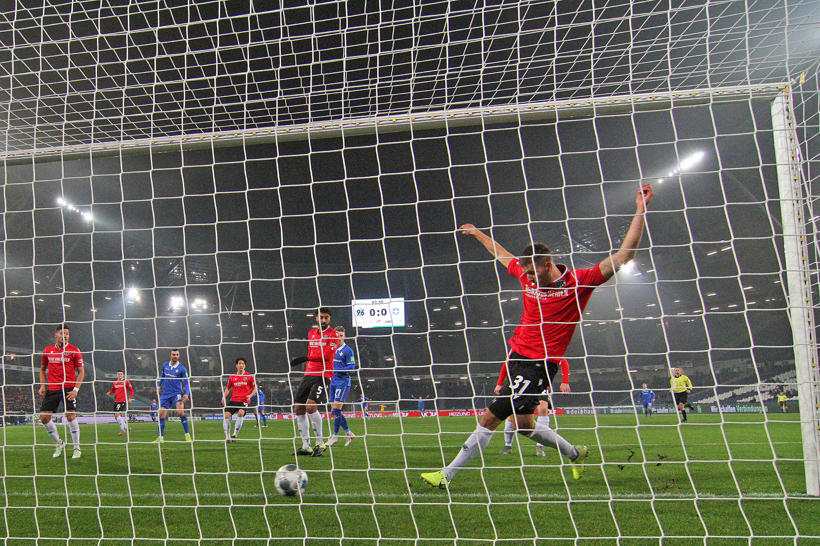 Impressionen vom Spiel gegen Hannover 96