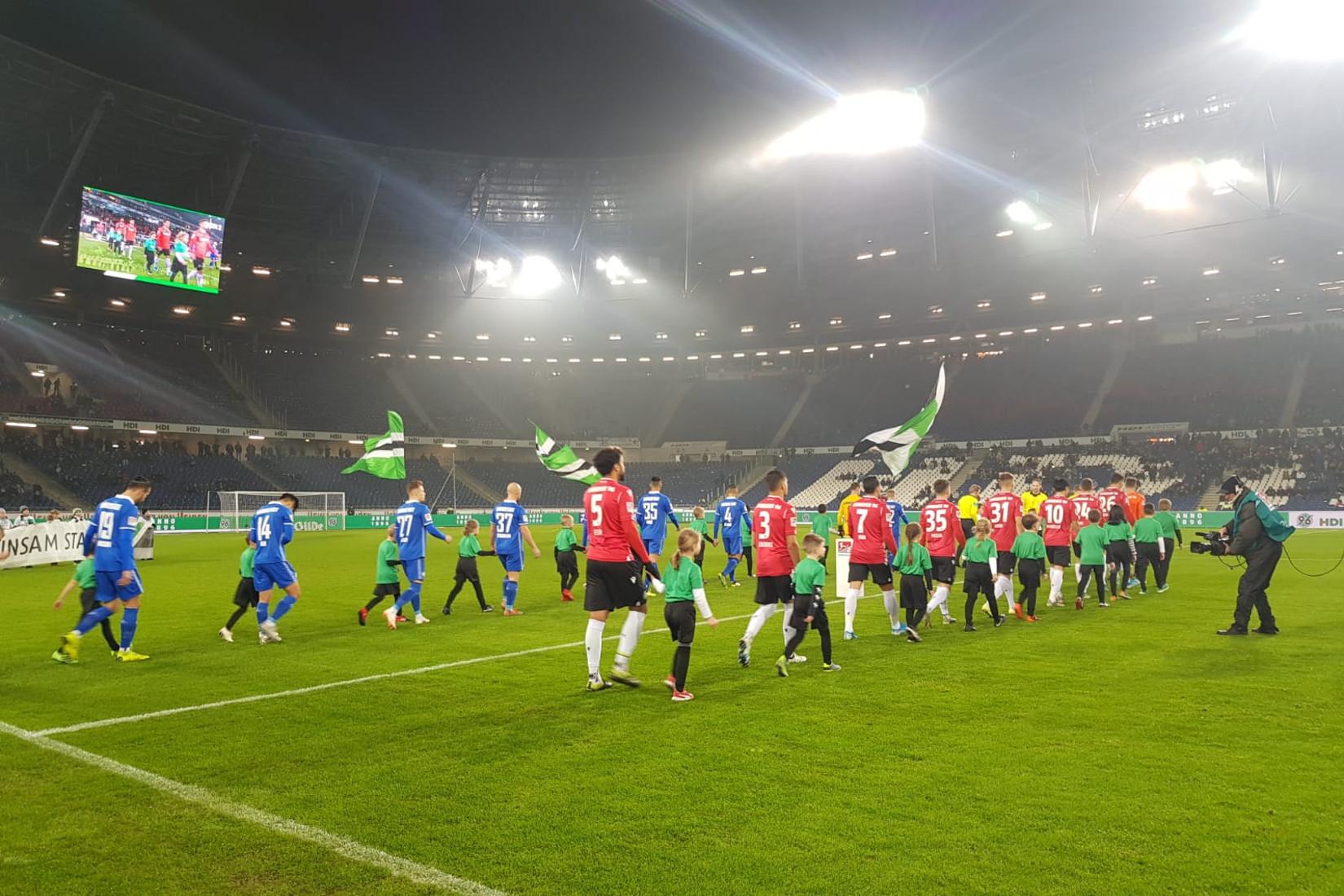 Hannover 96 – SV Darmstadt 98 1:2 (1:2)