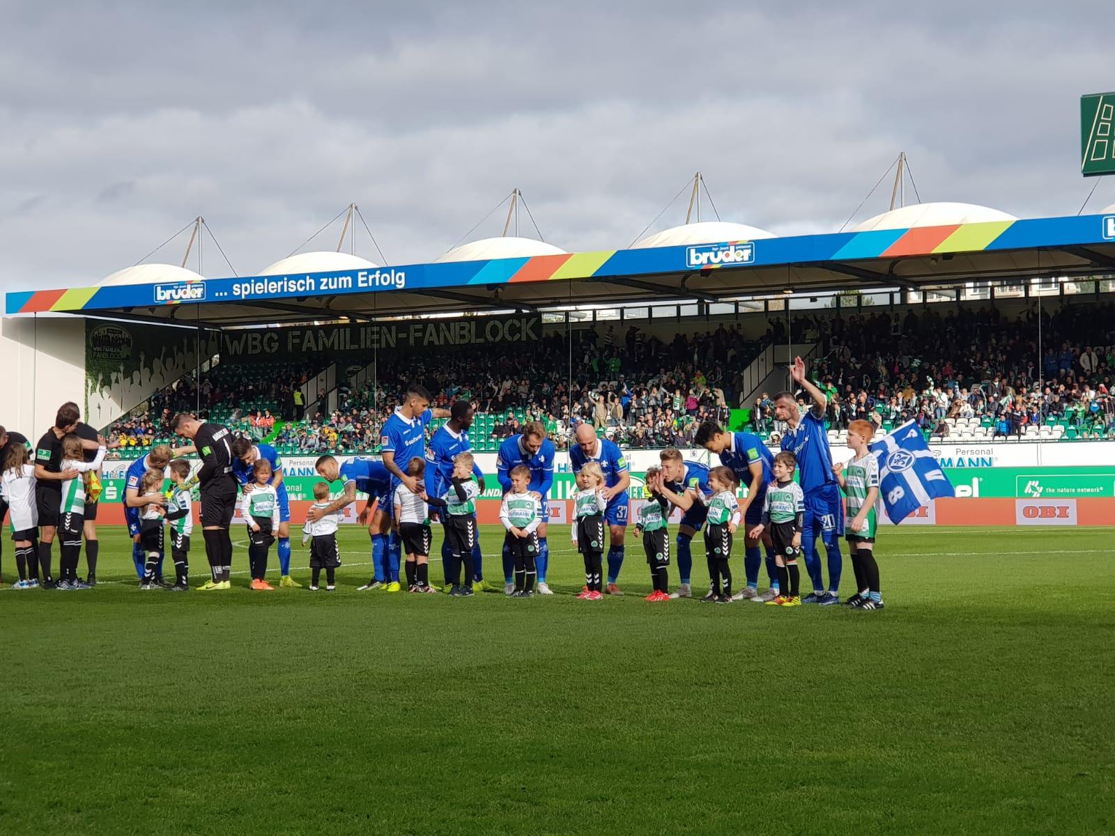 SpVgg Greuther Fürth – SV Darmstadt 98 3:1 (2:0)
