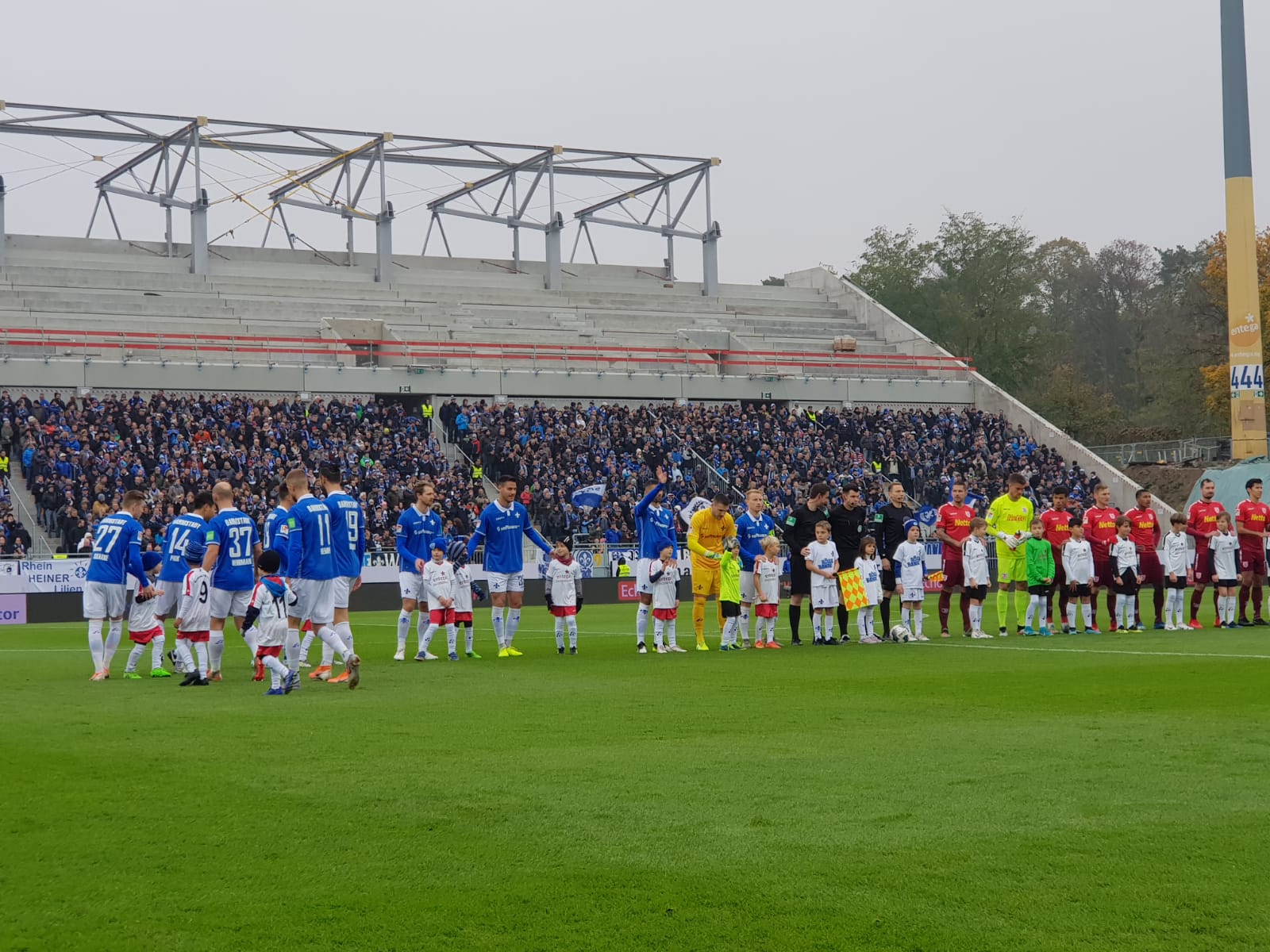 SV Darmstadt 98 – SSV Jahn Regensburg 2:2 (0:1)