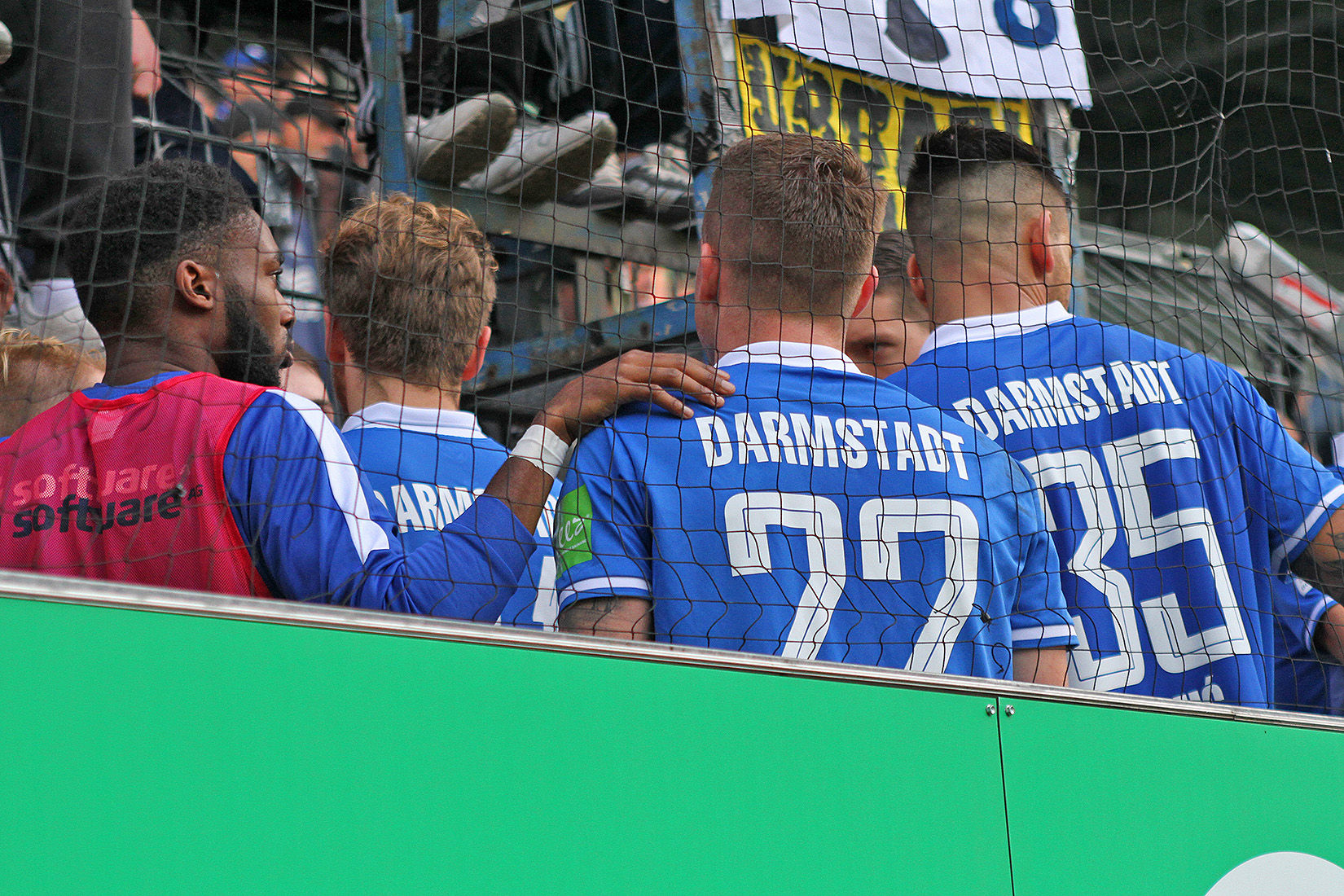 Impressionen vom Spiel gegen Greuther Fürth