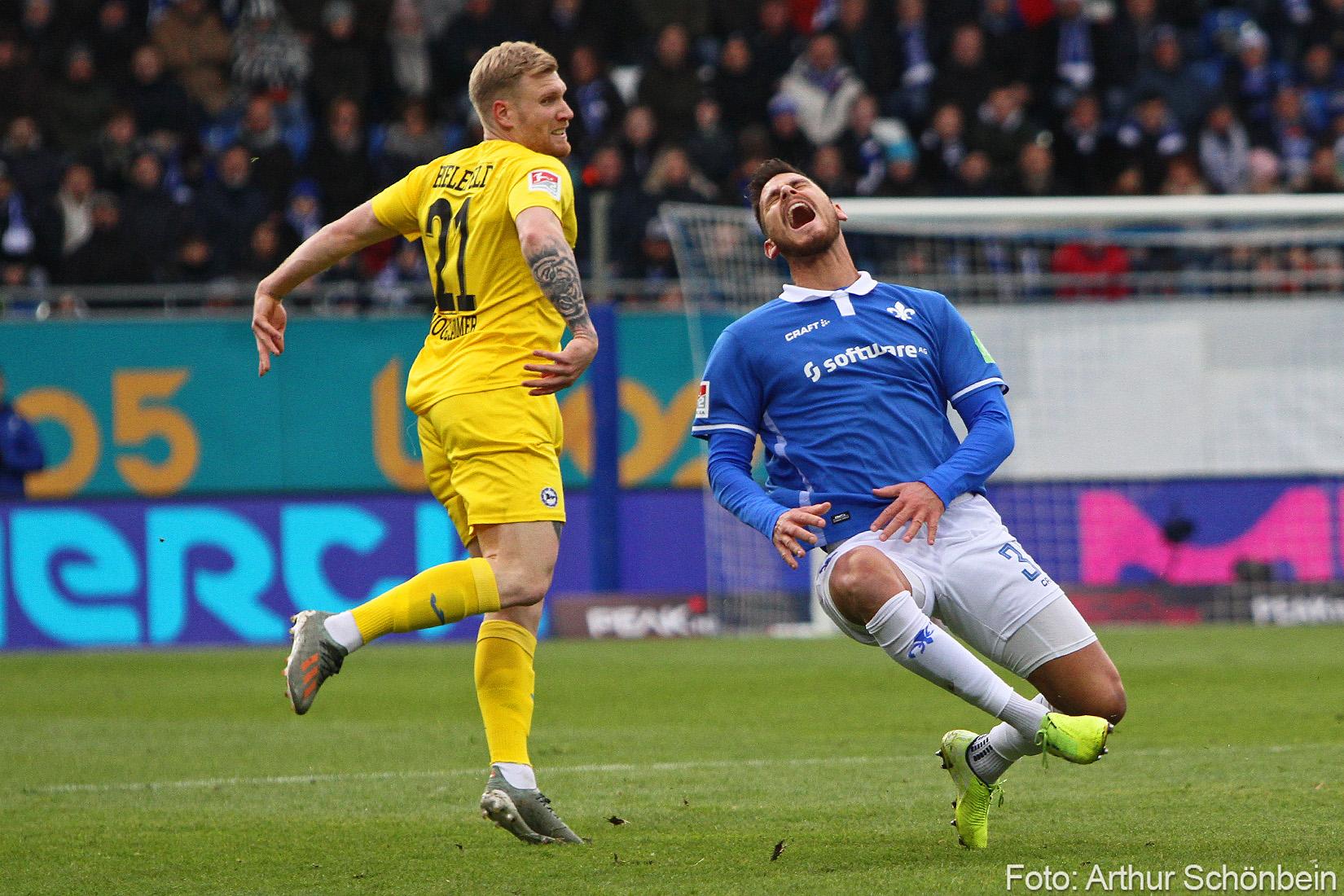 Impressionen vom Spiel gegen Arminia Bielefeld