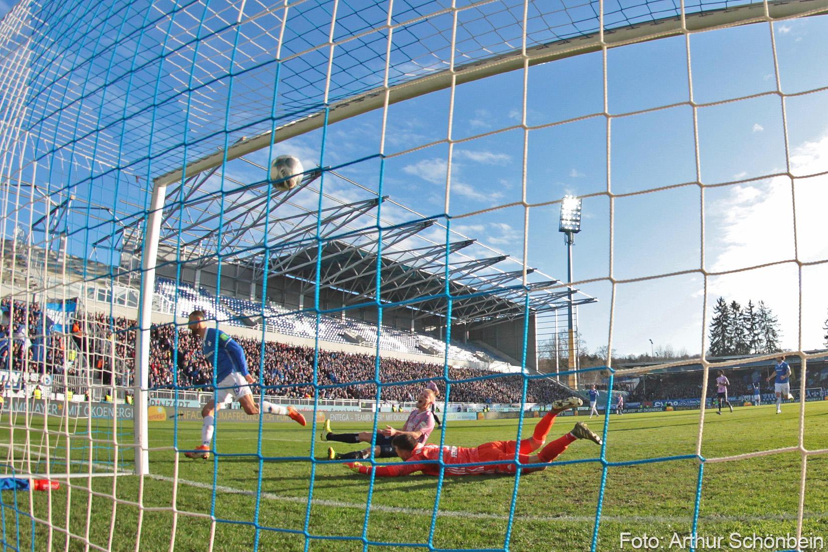 Impressionen vom Spiel gegen den Hamburger SV