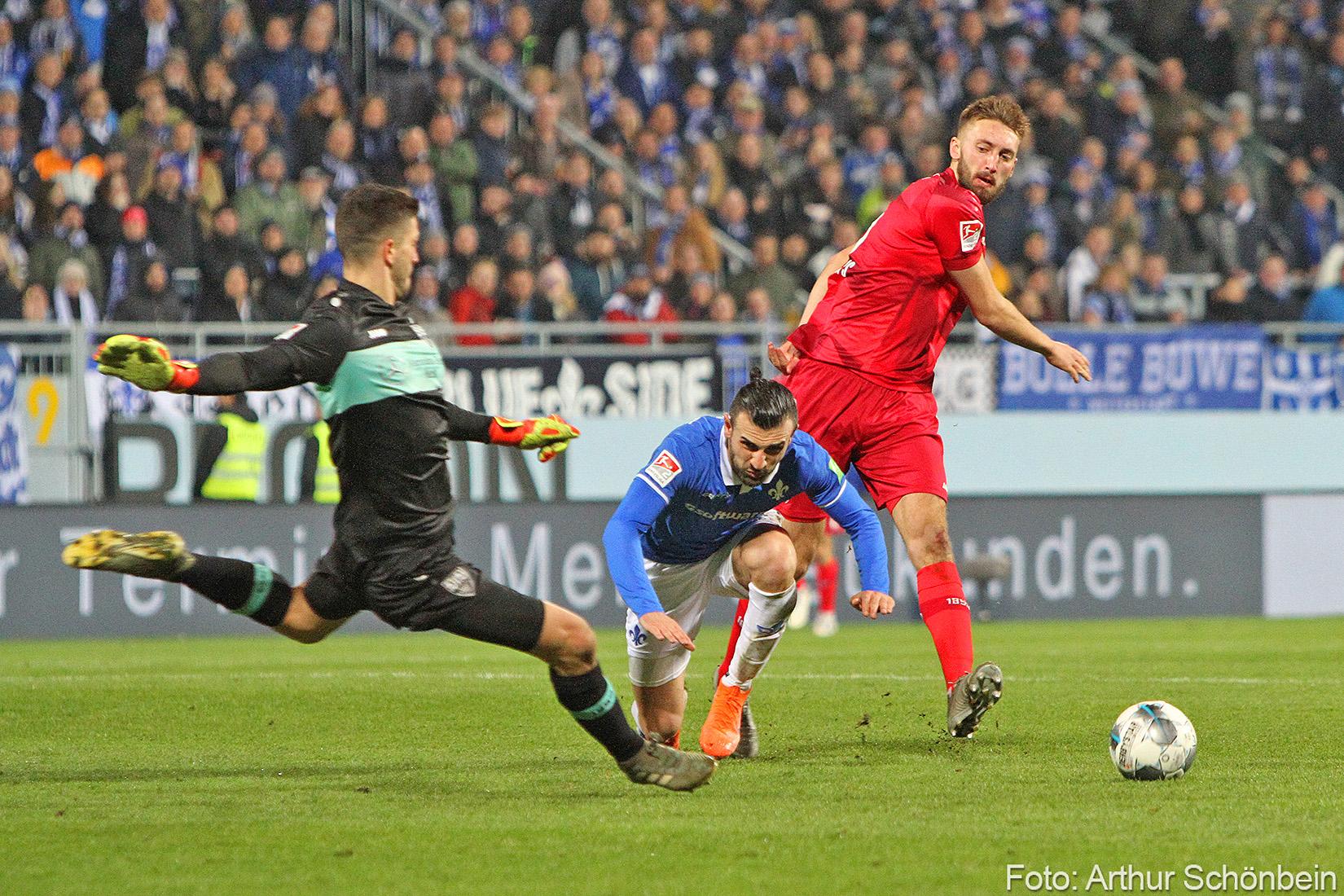 Impressionen vom Spiel gegen den VfB Stuttgart
