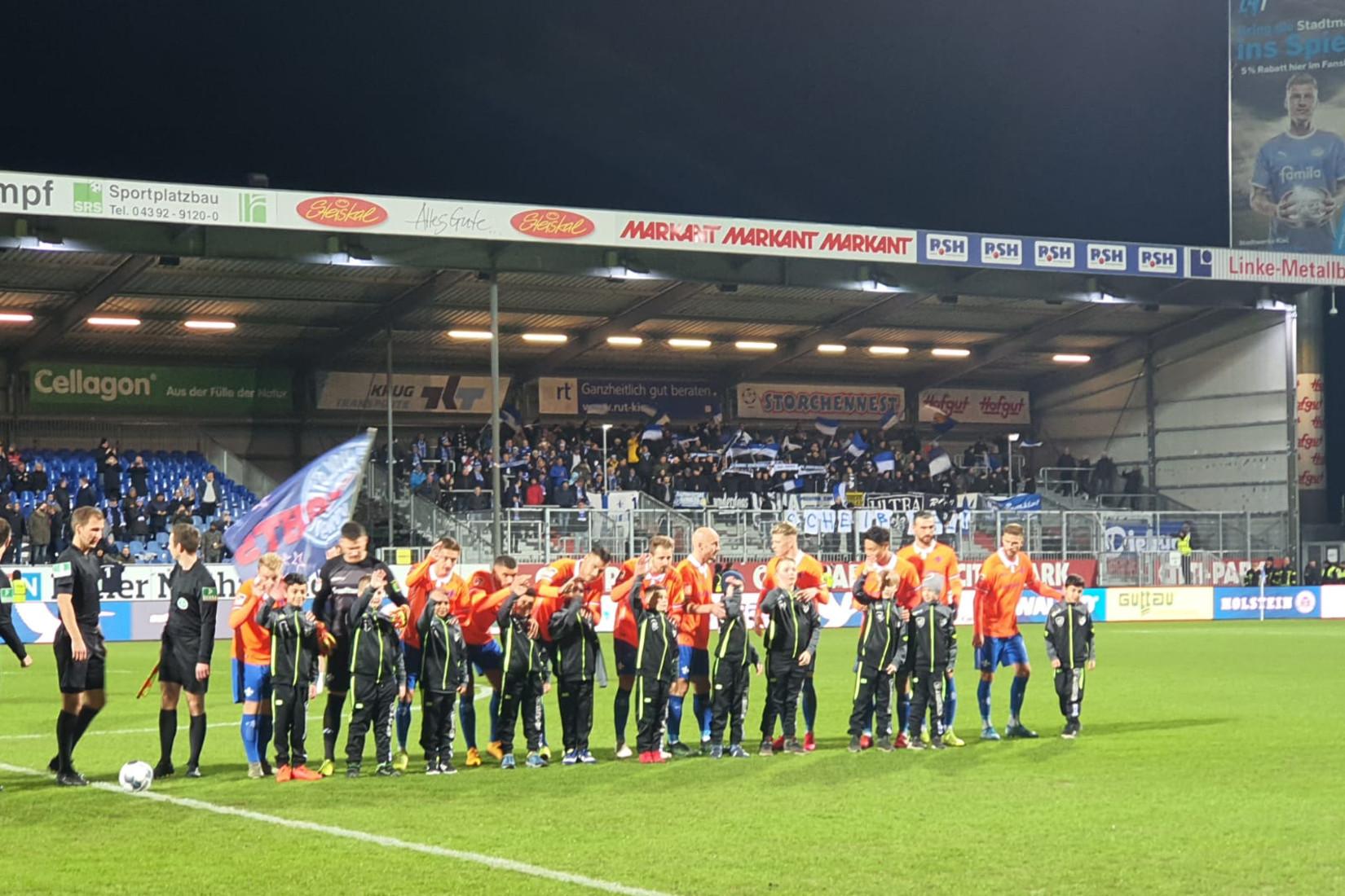 Holstein Kiel – SV Darmstadt 98 1:1 (1:1)
