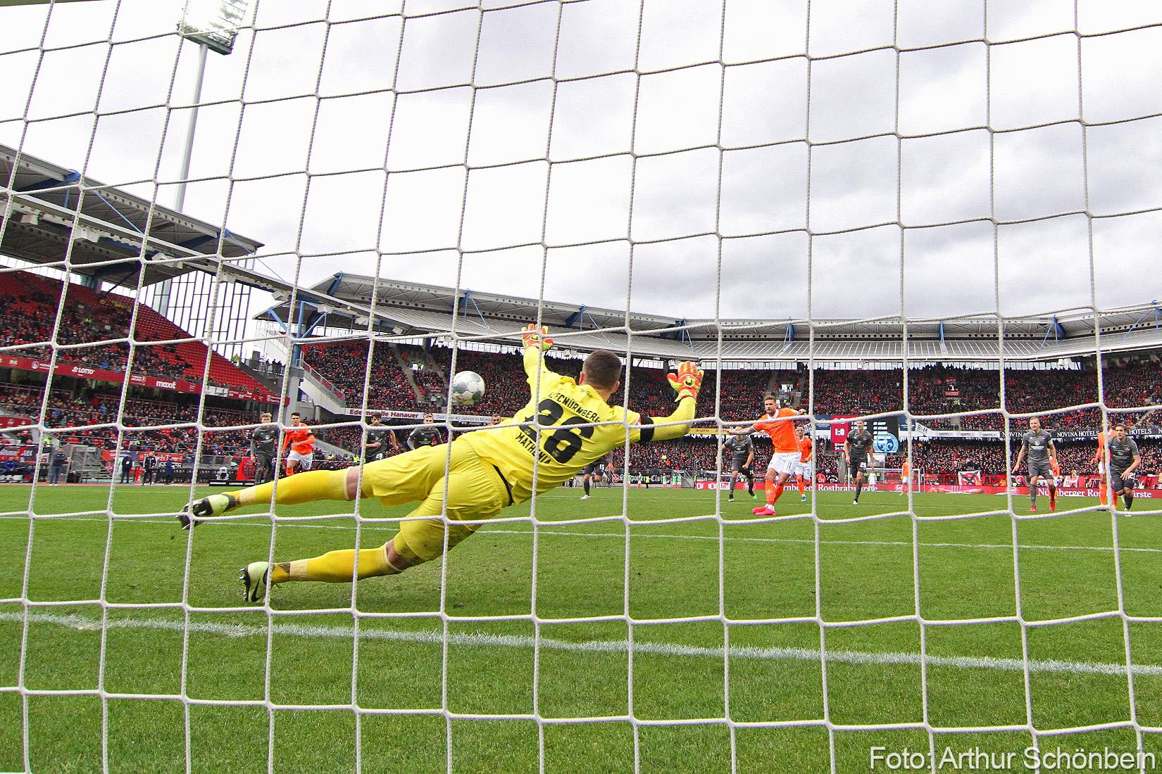 Impressionen vom Spiel gegen den 1.FC Nürnberg