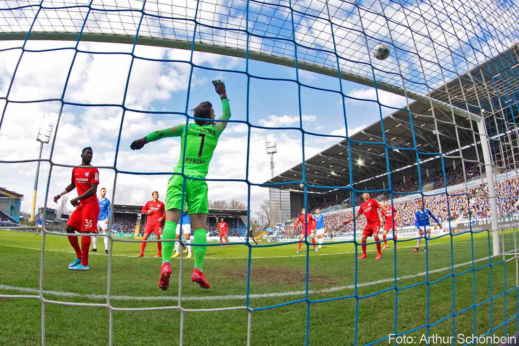 Impressionen vom Spiel gegen den VfL Bochum