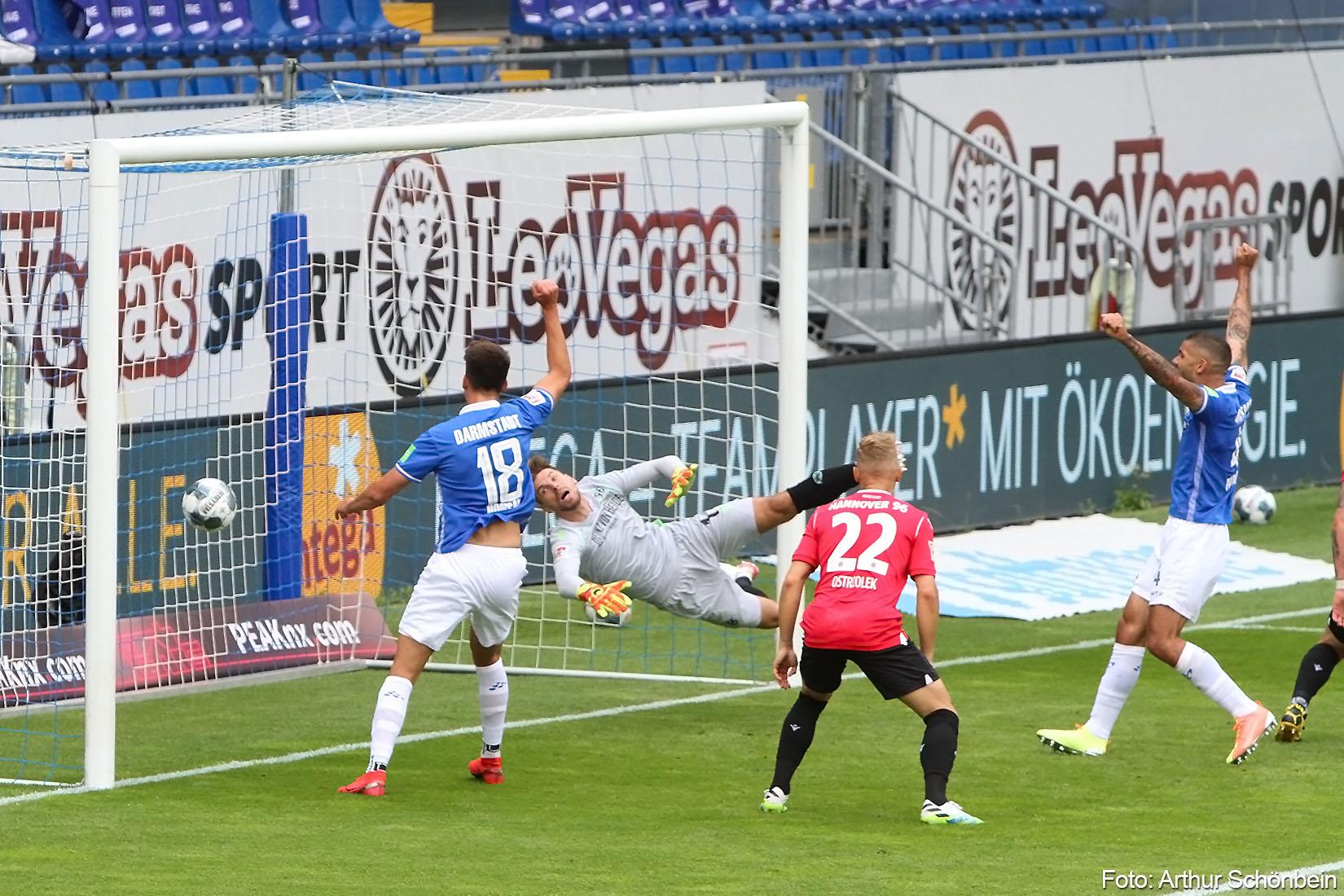 SV Darmstadt 98 – Hannover 96 3:2 (1:0)