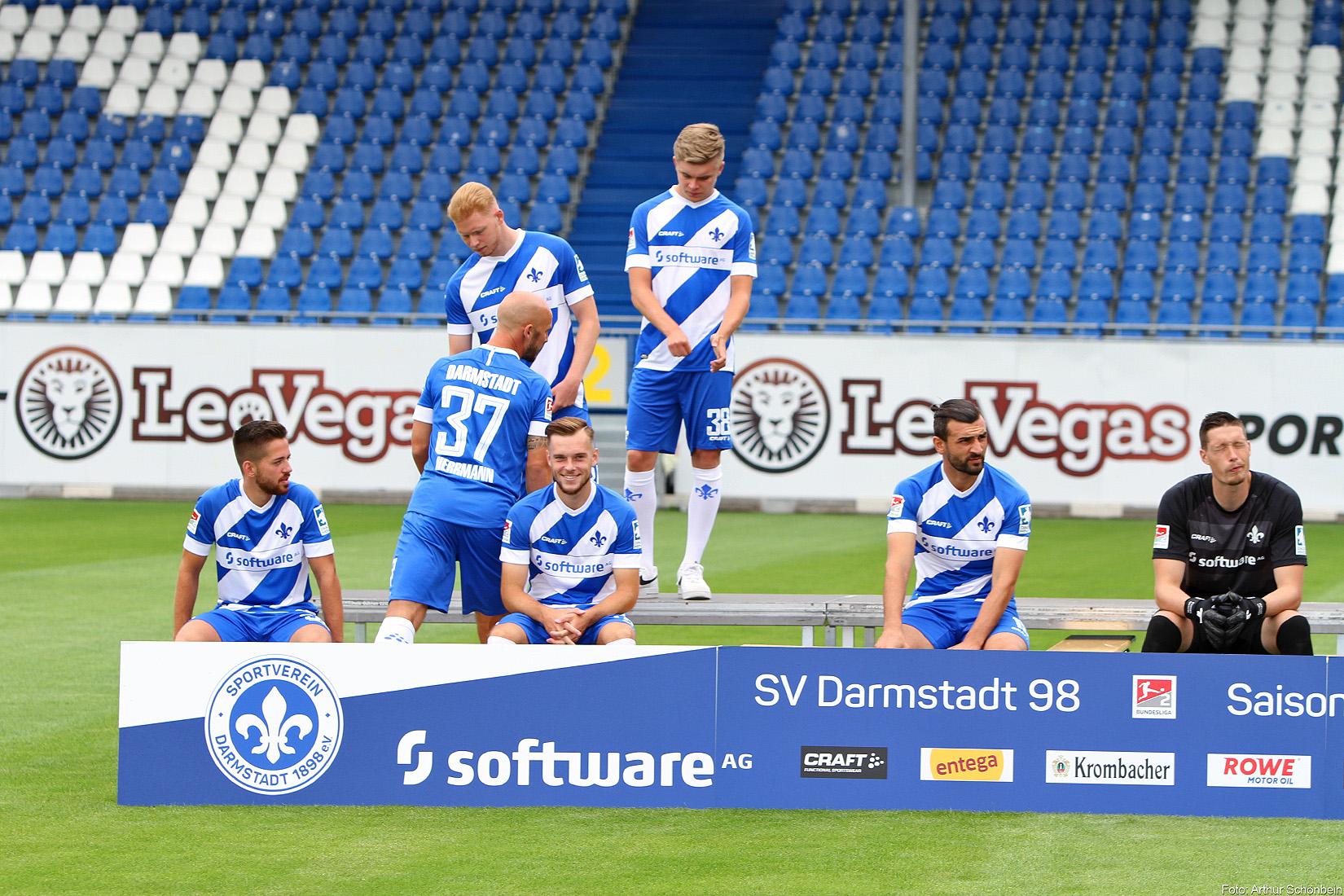 Die Suche nach der Startelf beim SV Darmstadt 98