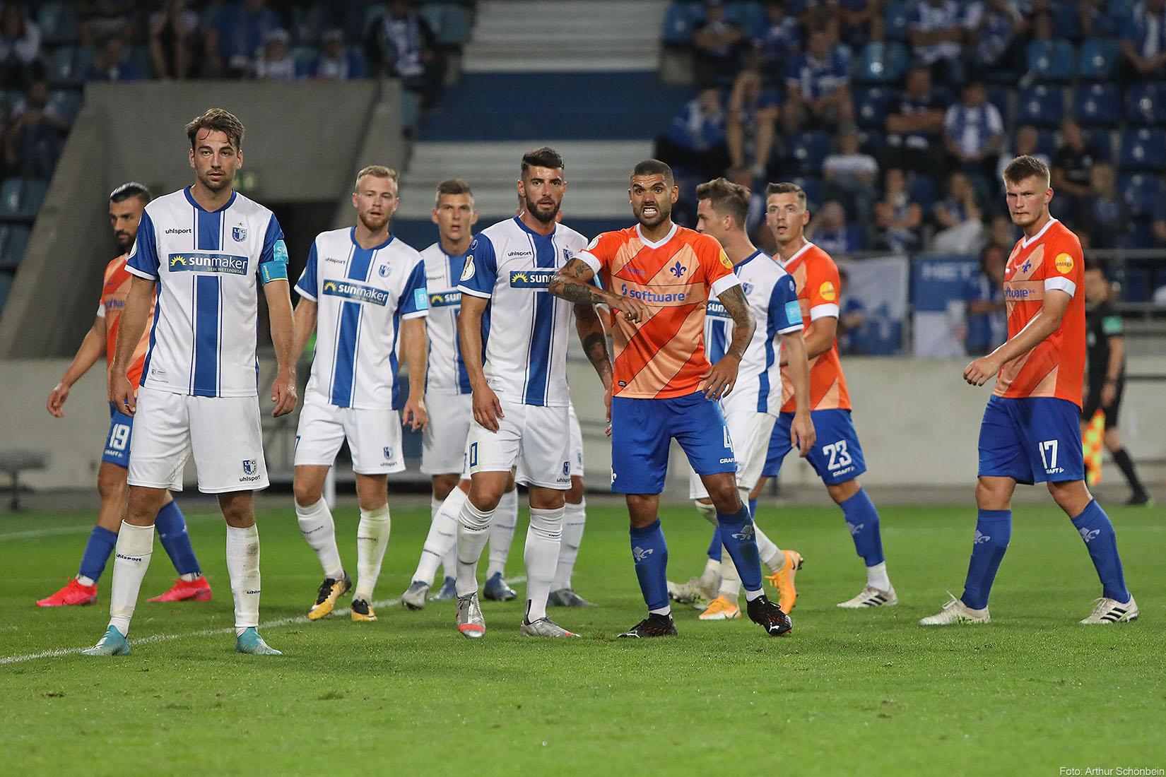 Impressionen vom Pokalspiel beim 1. FC Magdeburg