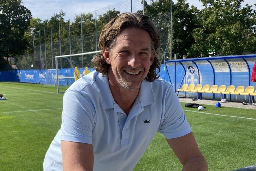 Sportchef Carsten Wehlmann lobt und hofft