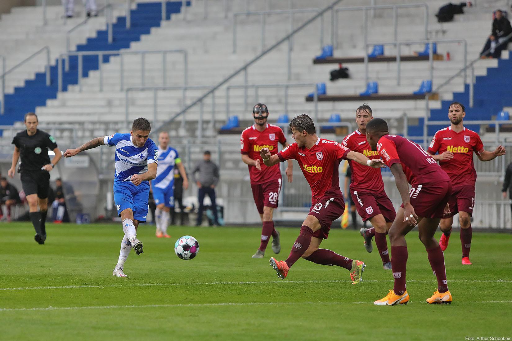 Impressionen vom Spiel gegen Jahn Regensburg