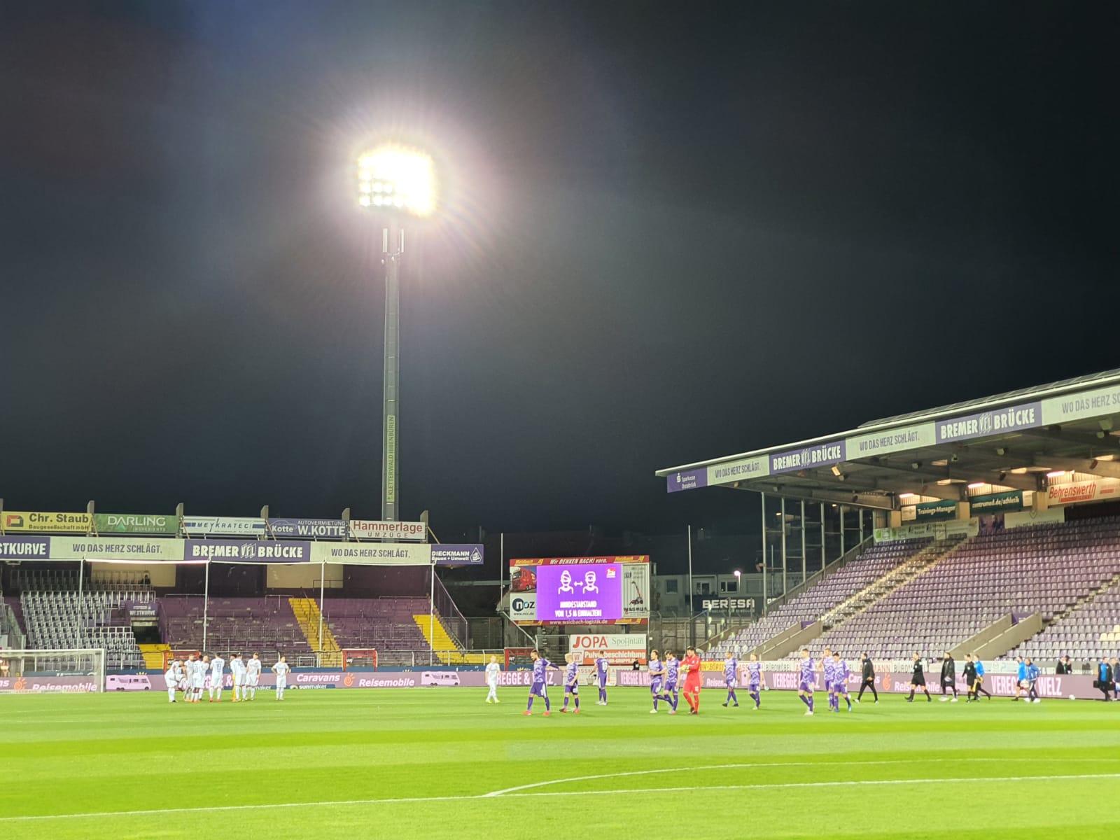 VfL Osnabrück – SV Darmstadt 98 1:1 (0:1)