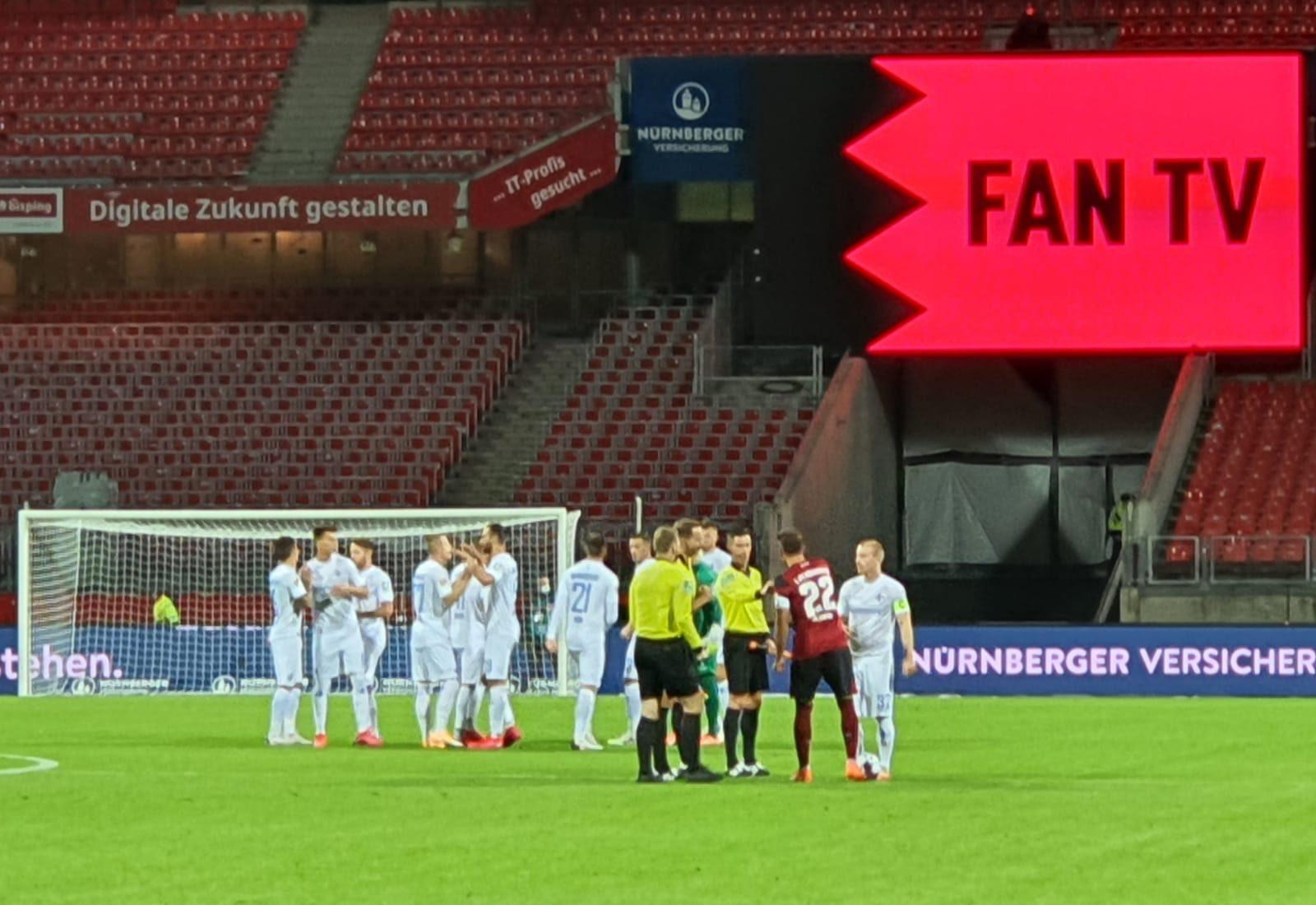 1. FC Nürnberg – SV Darmstadt 98 2:3 (1:0)