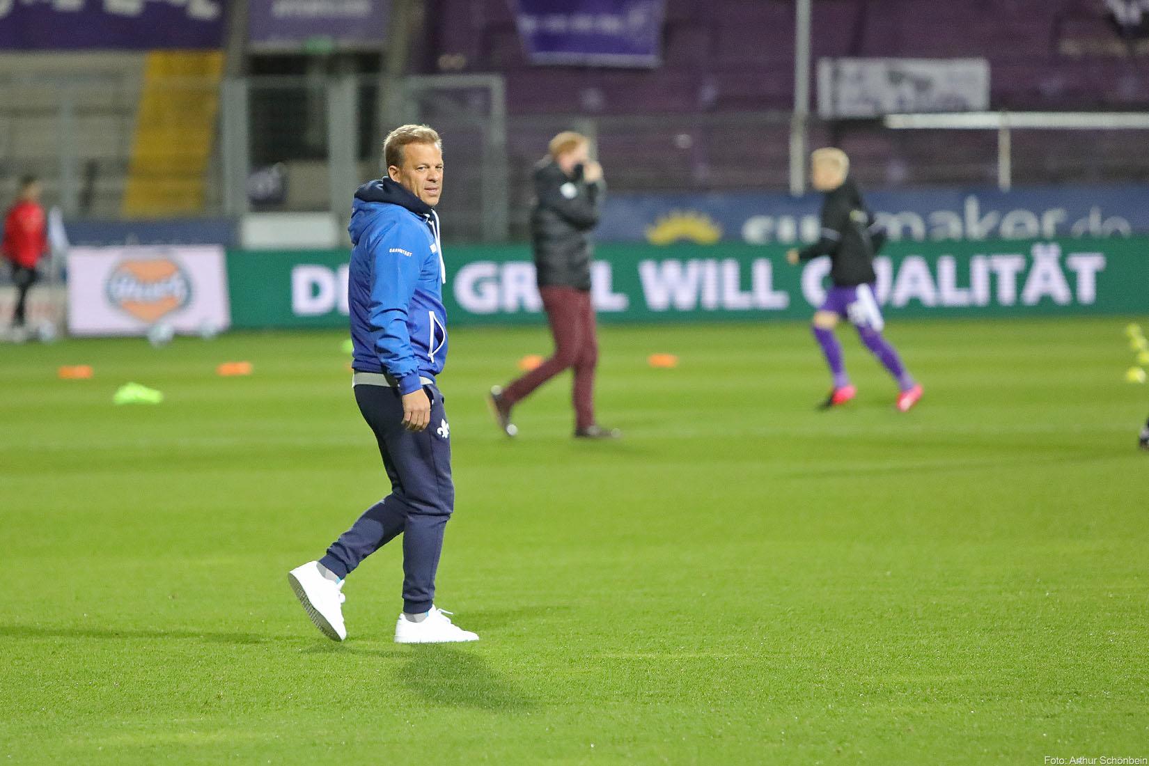 Anfang: Kein richtungsweisendes Spiel für Darmstadt 98