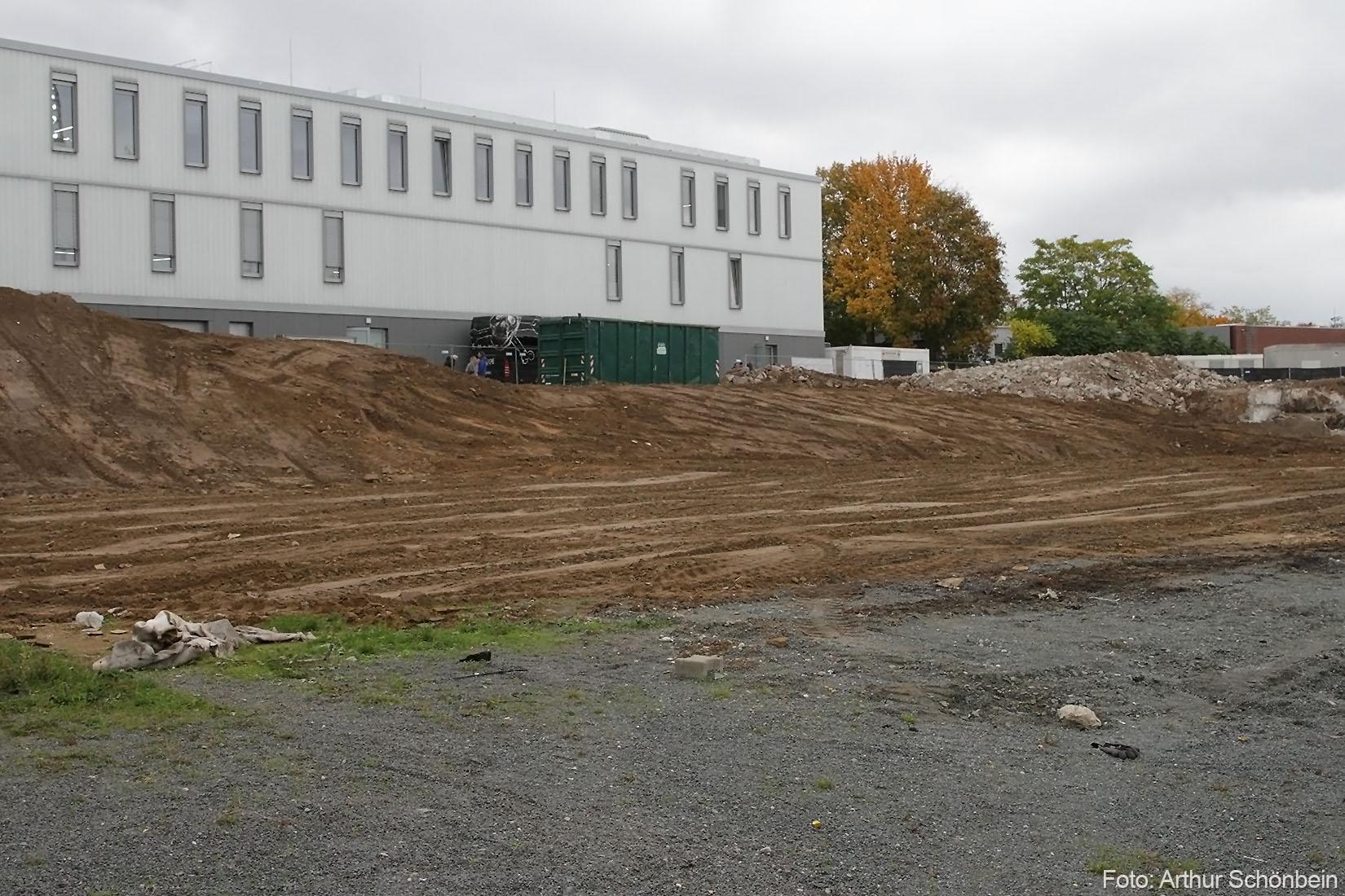 Jetzt ist sie weg oder Neues von der Baustelle Böllenfalltor