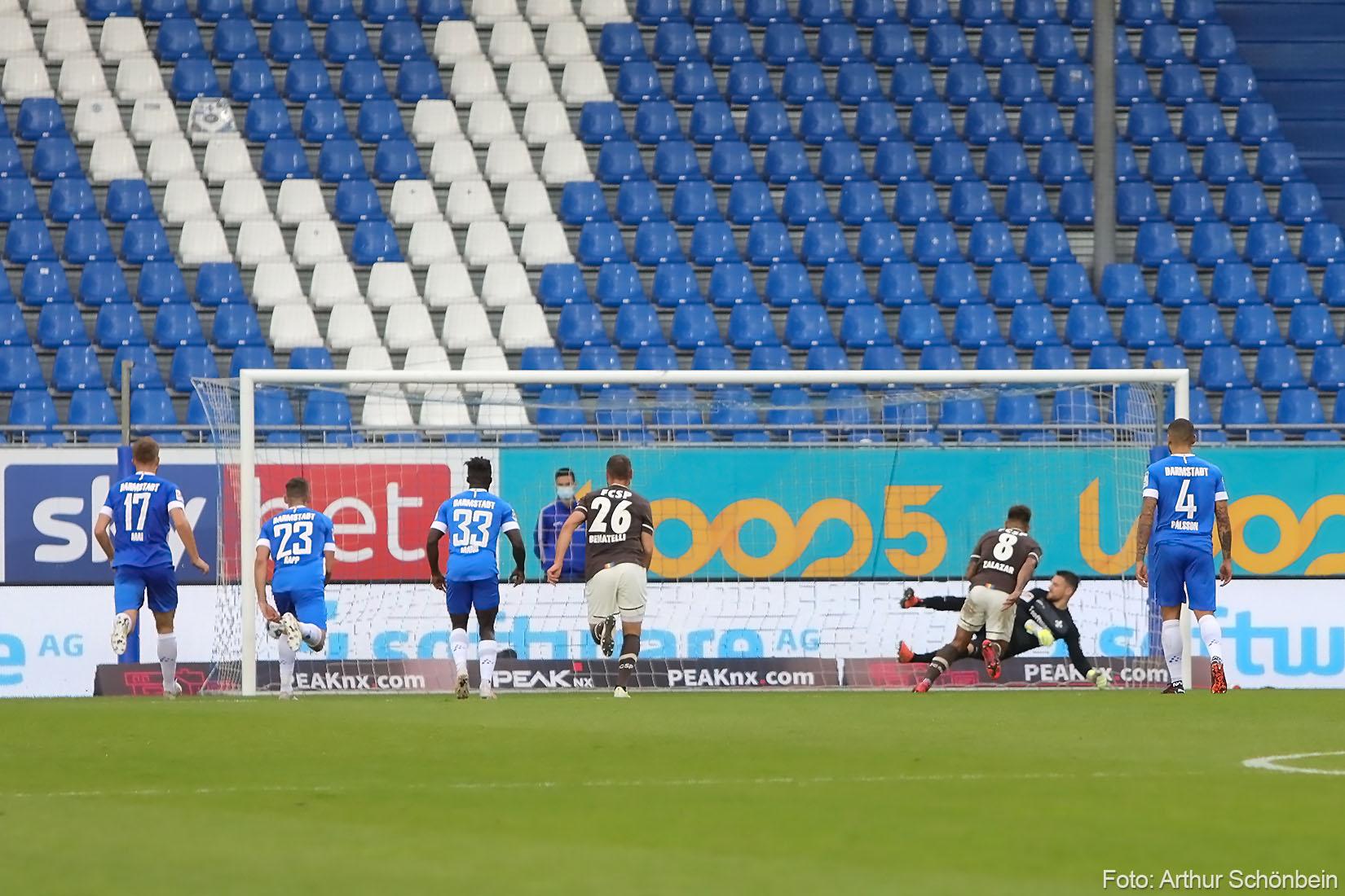 Elfmeterseuche beim SV Darmstadt 98 – Anfang konsterniert