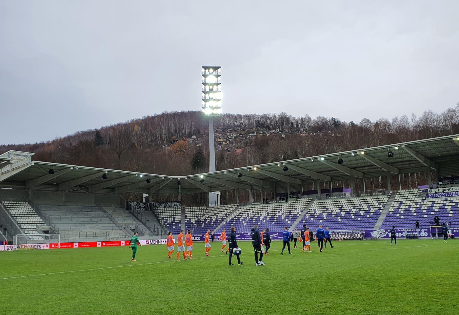 FC Erzgebirge Aue – SV Darmstadt 98 3:0 (1:0)