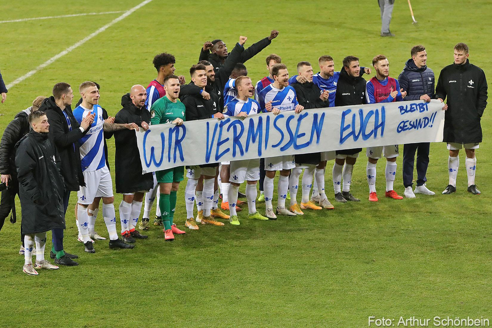 Impressionen vom Spiel gegen Dynamo Dresden