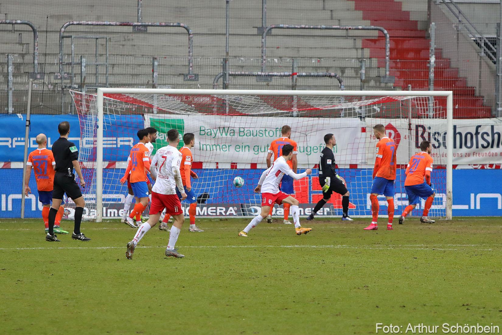 Unsere Fotos vom Spiel bei Jahn Regensburg