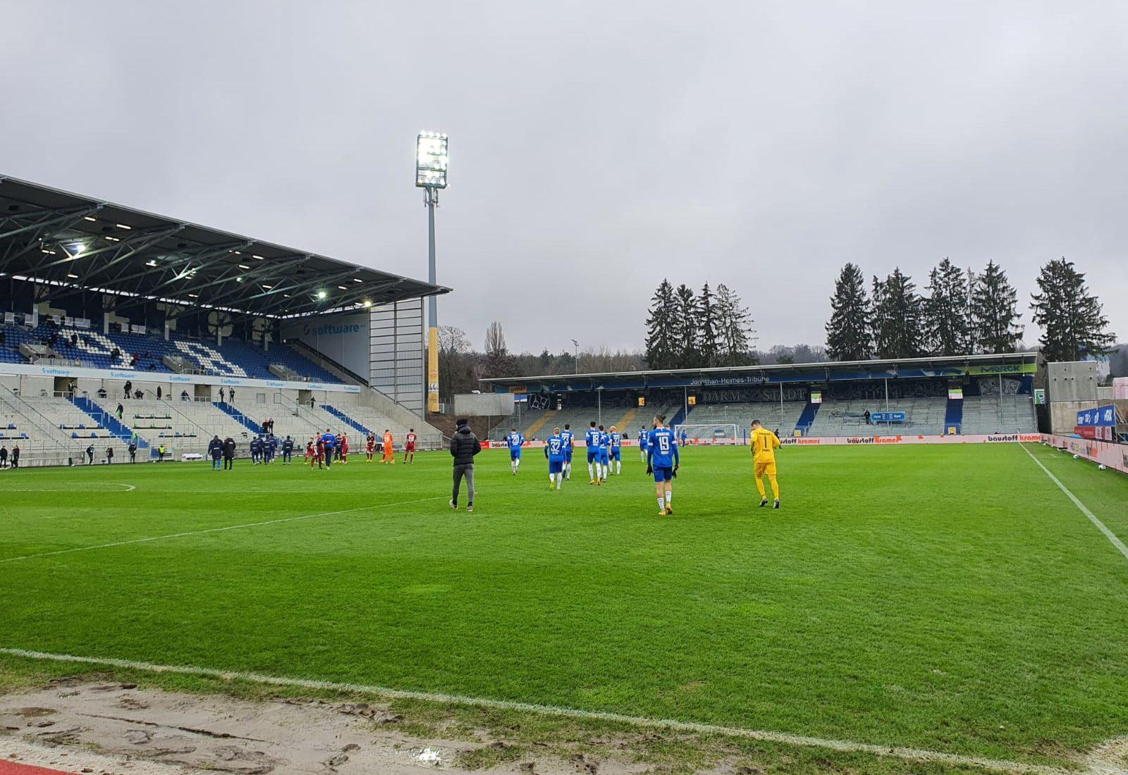 SV Darmstadt 98 – 1. FC Nürnberg 1:2 (0:0)