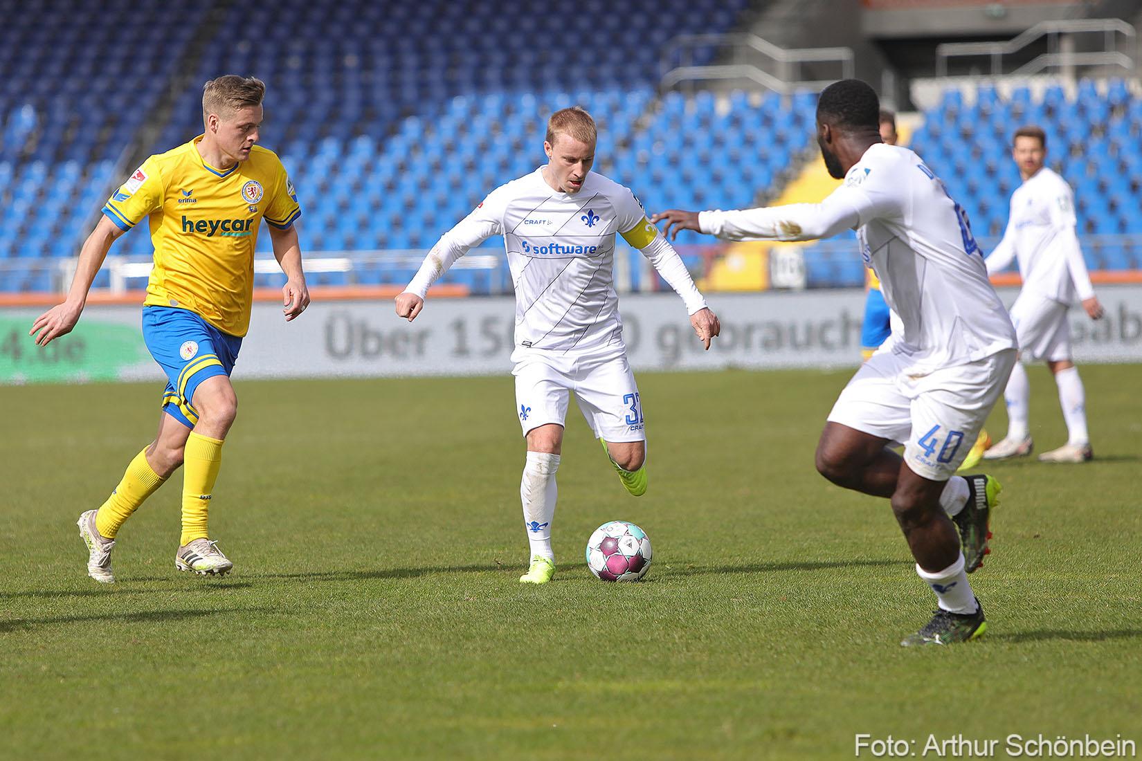 Fabian Holland mit gutem Gefühl gegen Düsseldorf