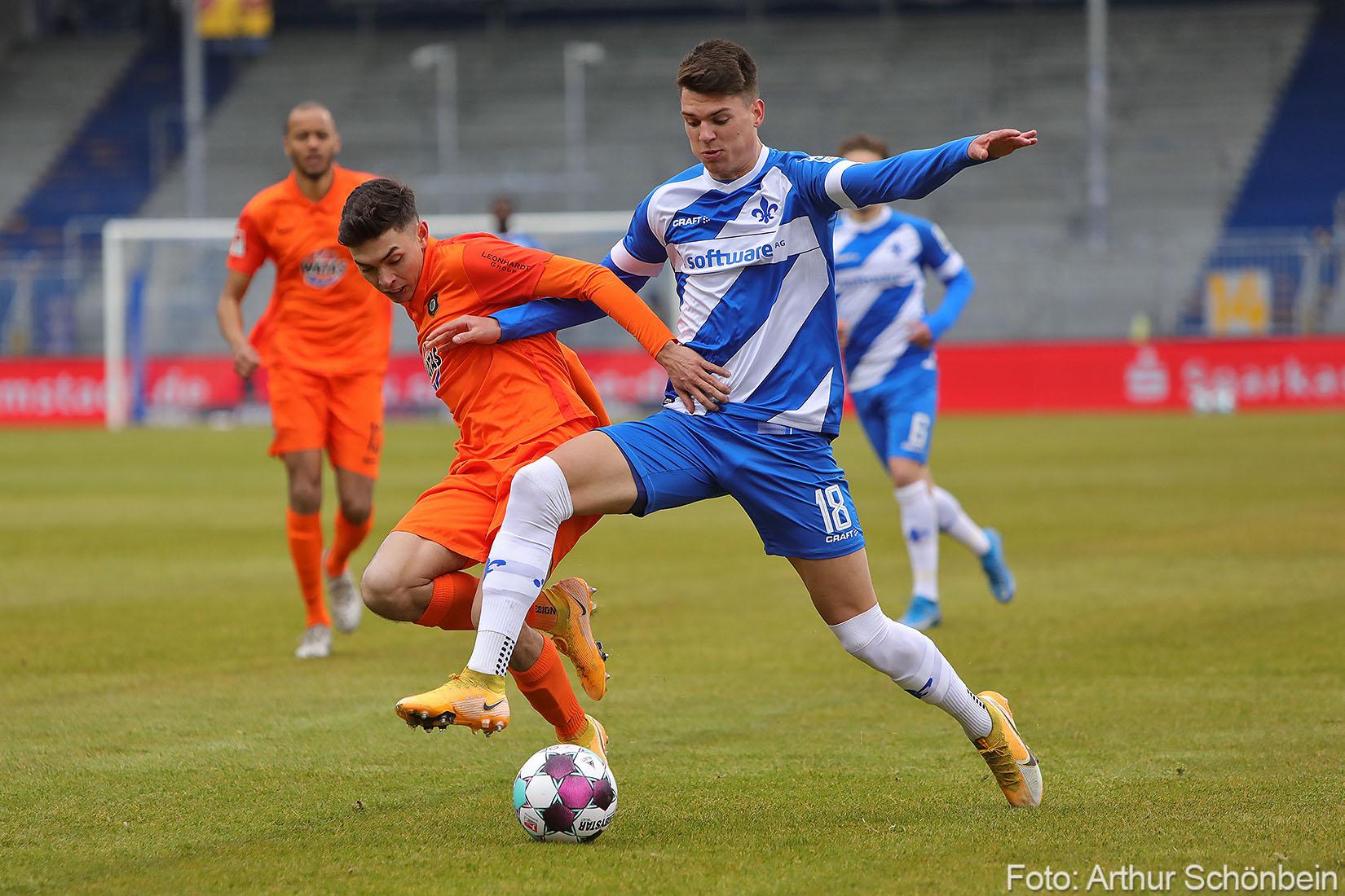 Weniger Ballbesitz bringt dem SV Darmstadt 98 mehr Erfolg
