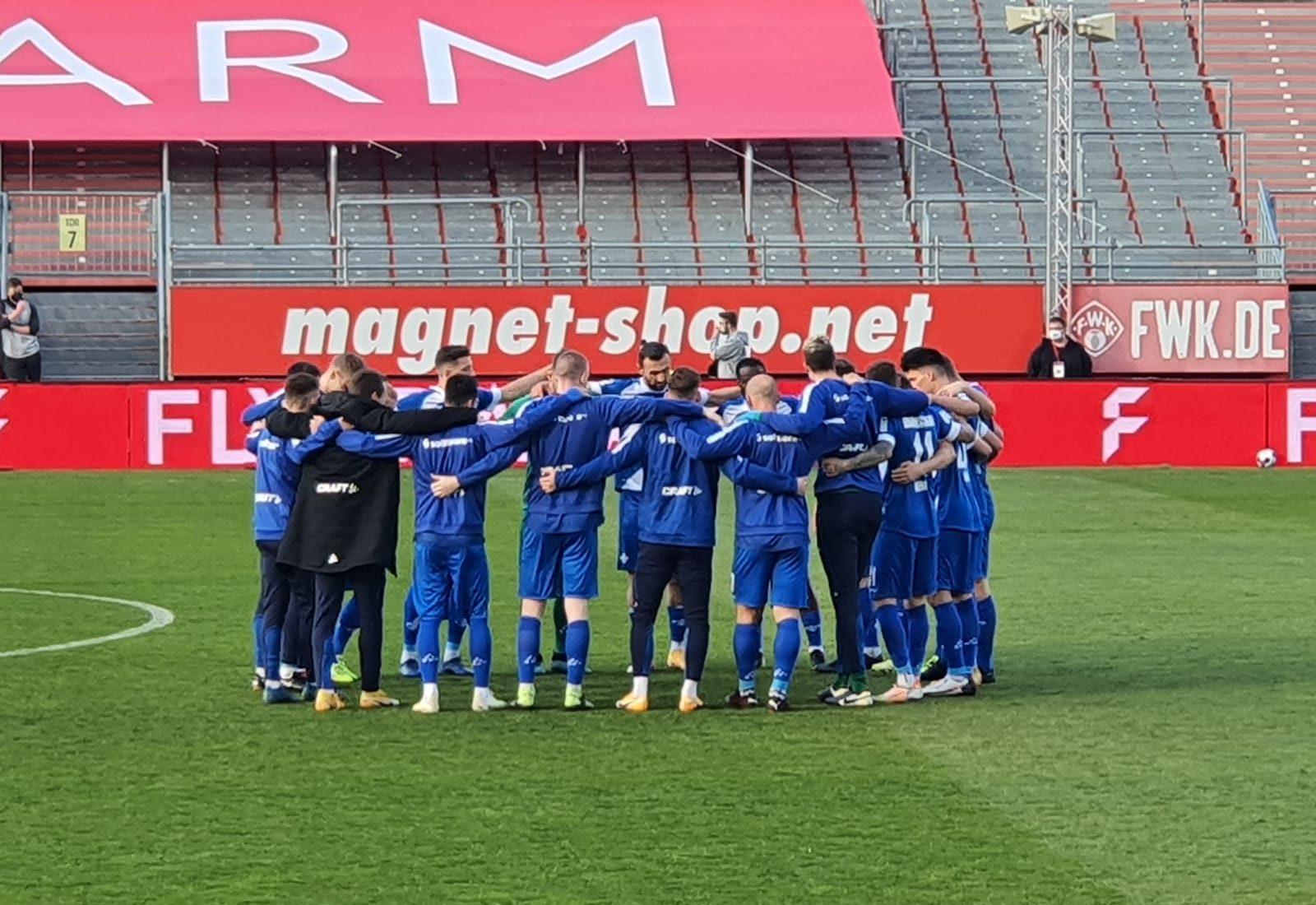 Würzburger Kickers – SV Darmstadt 98 1:3 (0:1)