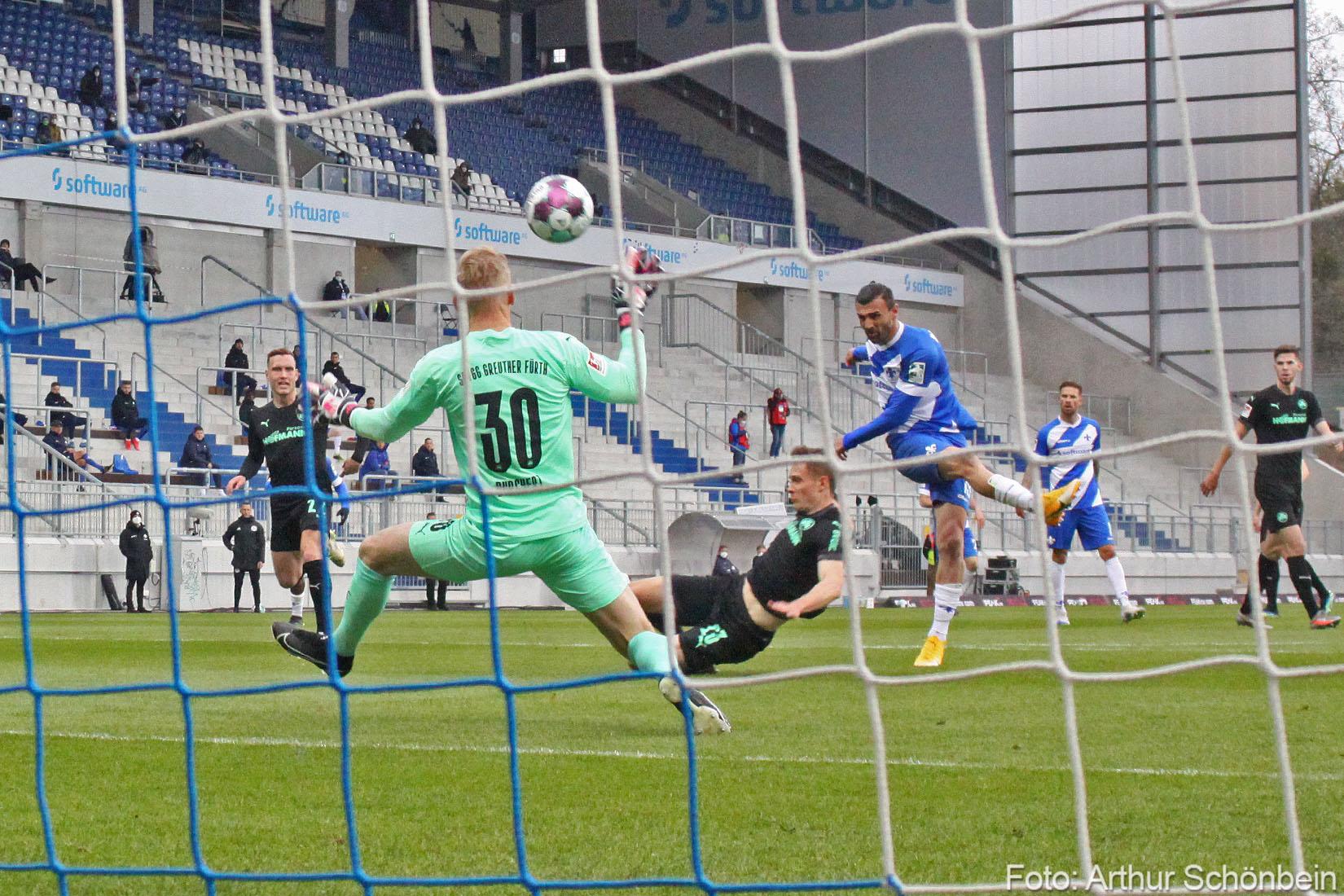 Unsere Bilder vom Spiel gegen Greuther Fürth