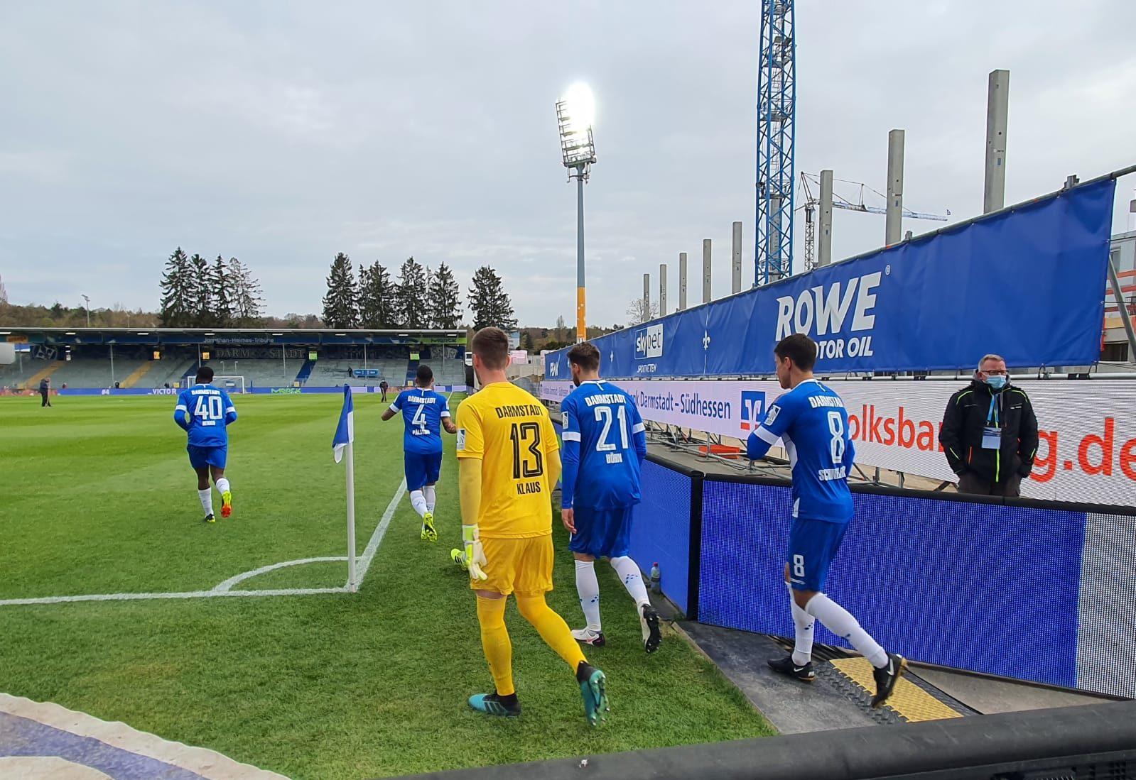 SV Darmstadt 98 – SpVgg Greuther Fürth 2:2 (2:0)
